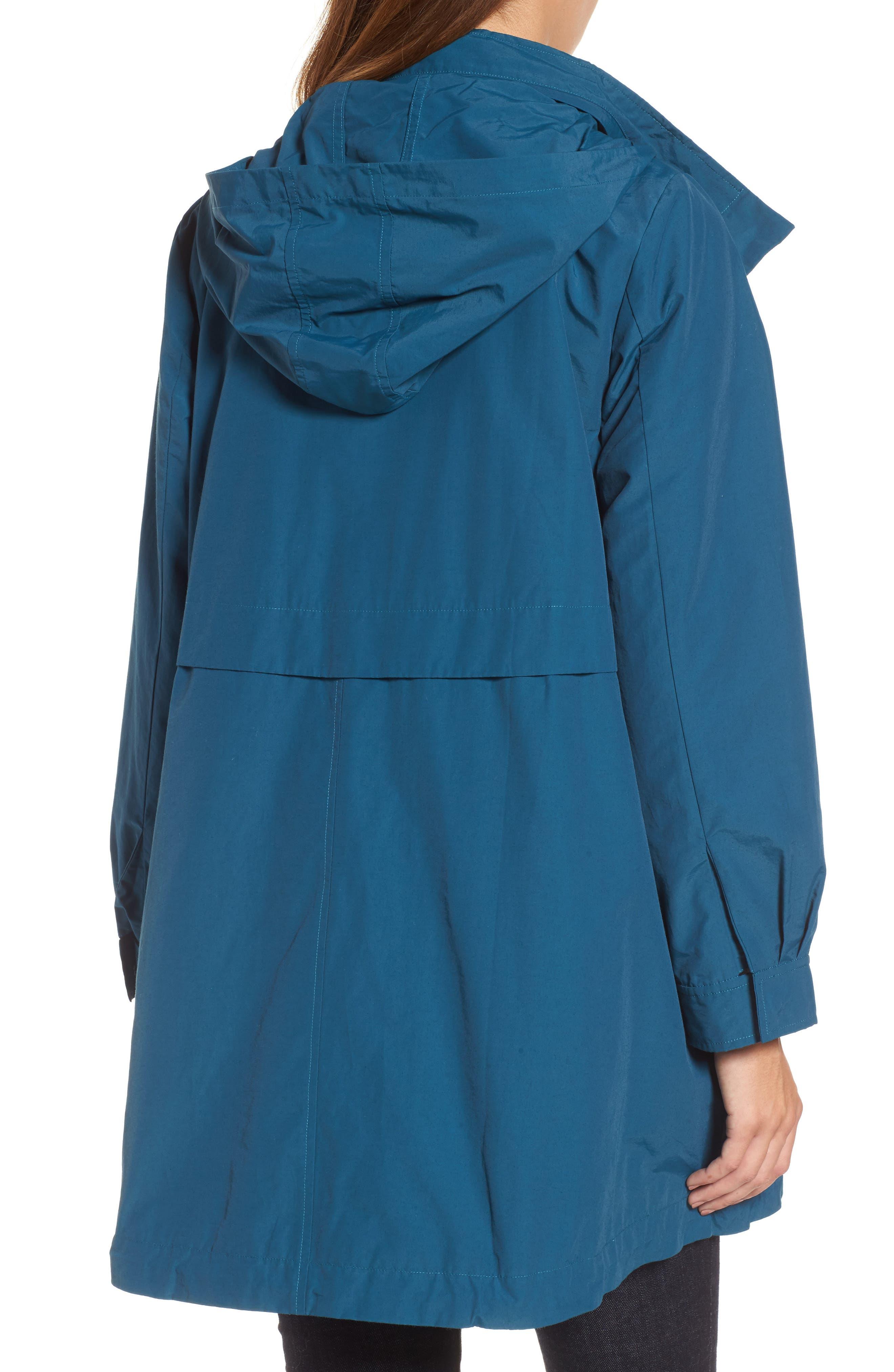 Hooded Utility Jacket,                             Alternate thumbnail 2, color,                             Blue Spruce