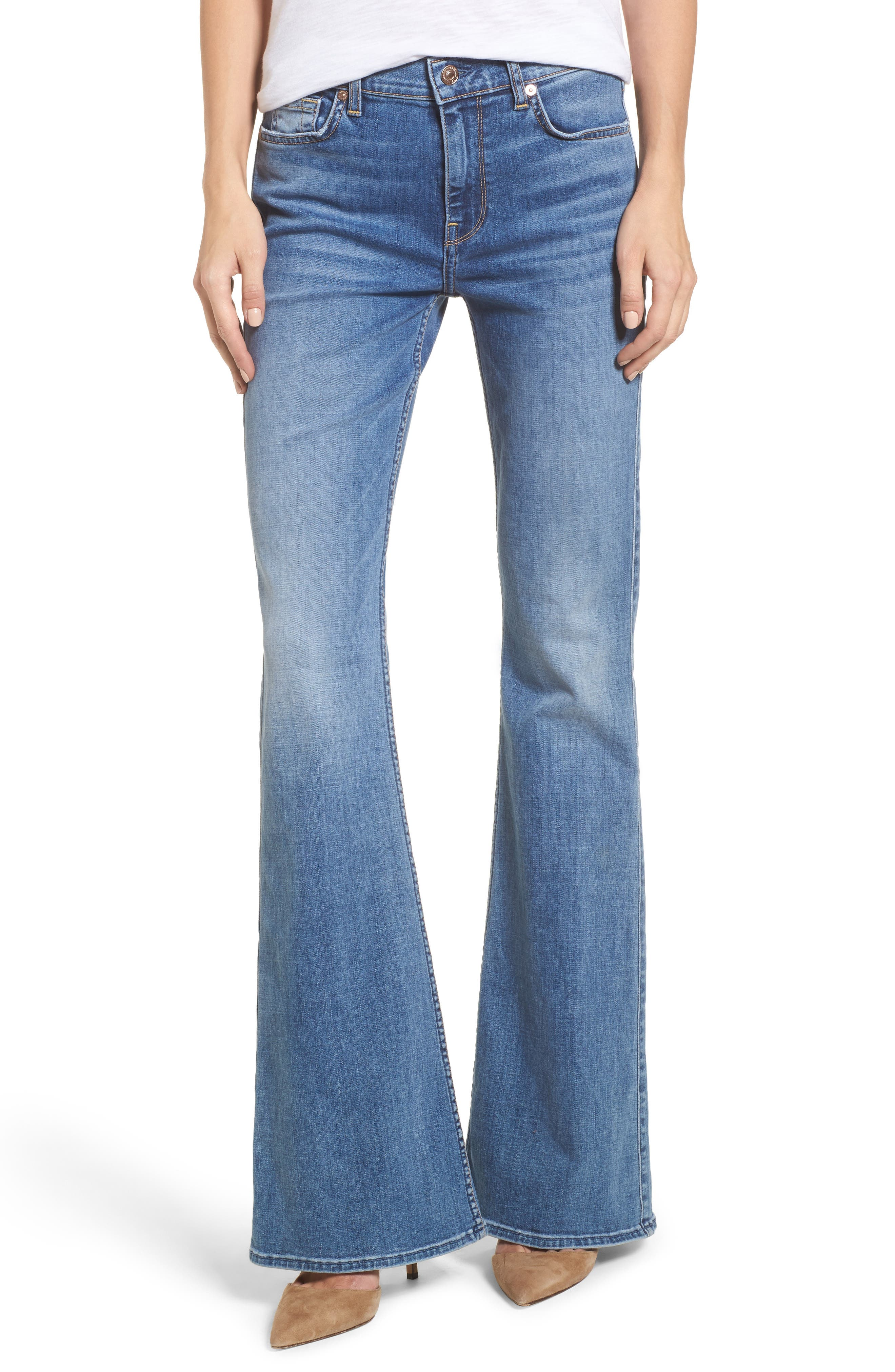 7 For All Mankind® Ali Wide Leg Jeans (Fillmore)
