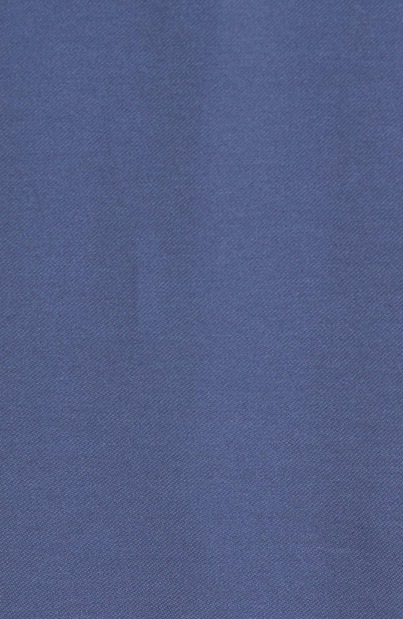 Nantz Piqué Polo,                             Alternate thumbnail 5, color,                             Blue Indigo