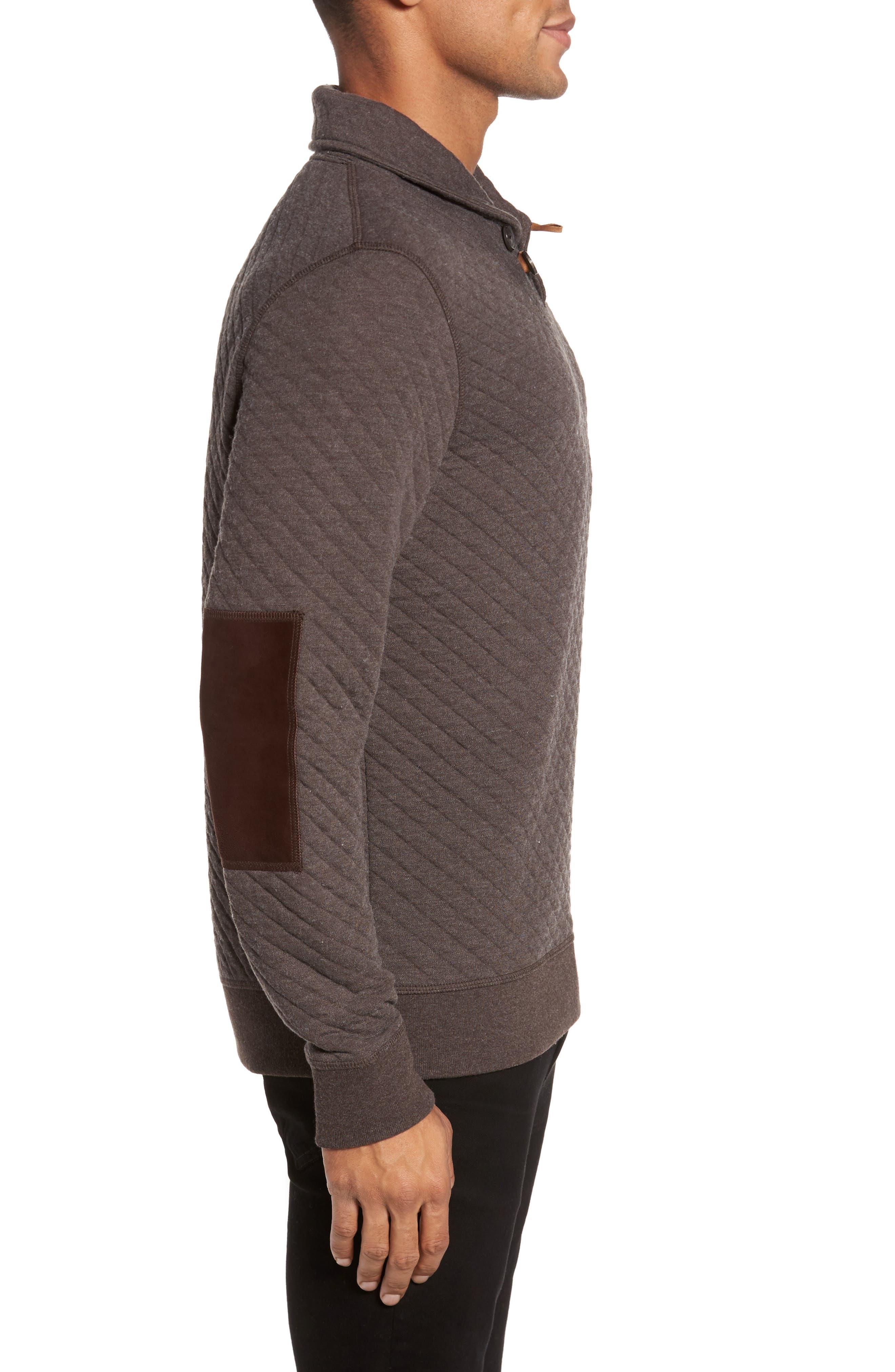 Alternate Image 3  - Billy Reid Shawl Collar Pullover