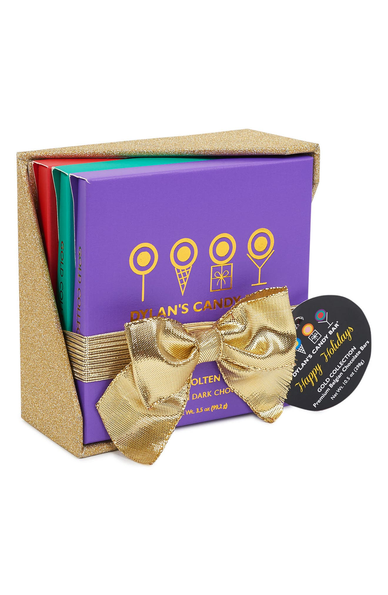 Dylan's Candy Bar Gold Collection Signature Flavors Gift Box