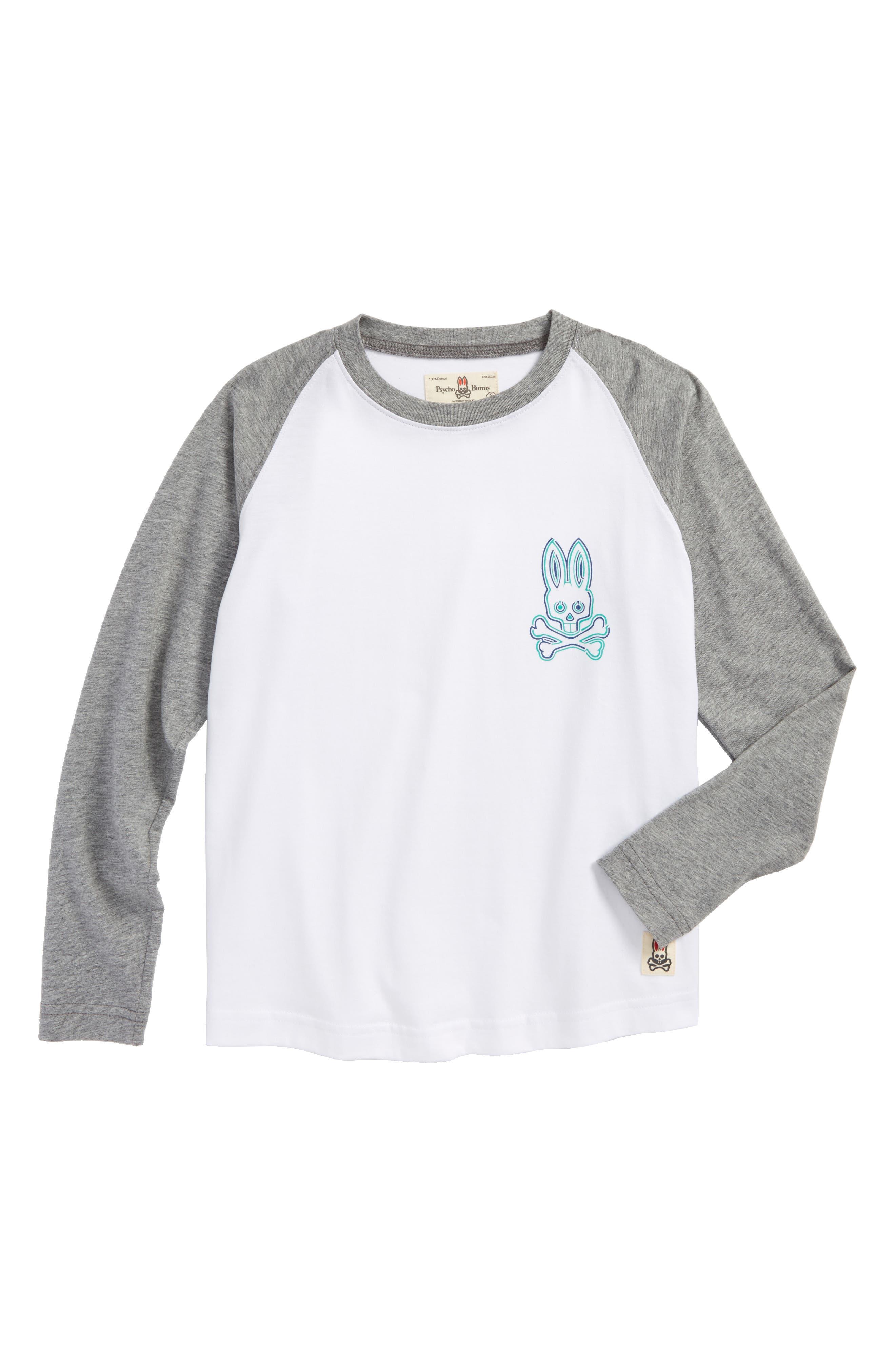 Alternate Image 1 Selected - Psycho Bunny Mantle Pima Cotton T-Shirt (Little Boys & Big Boys)