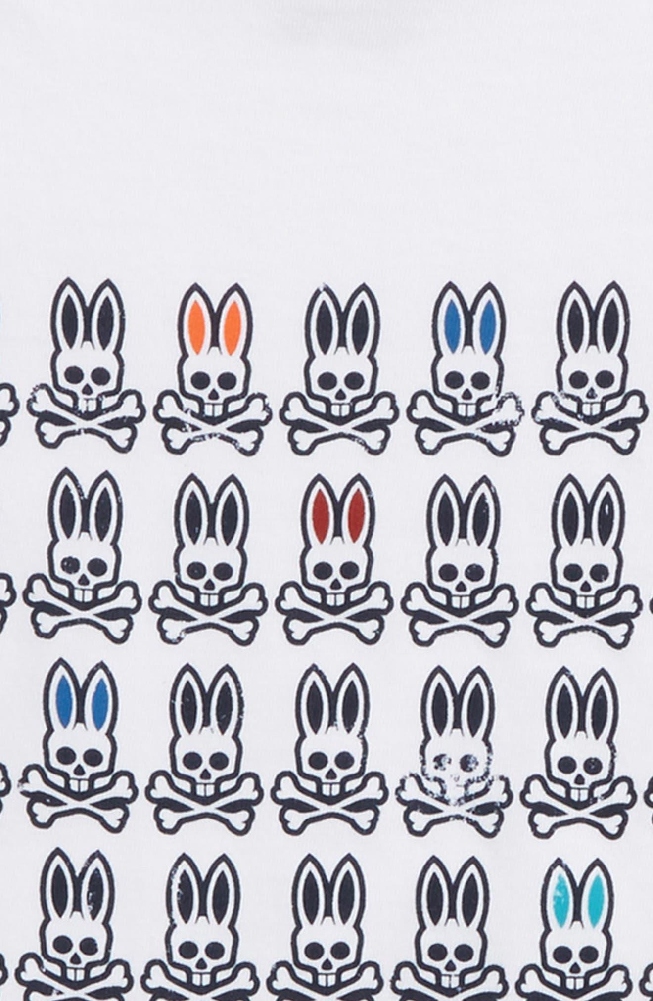 Alternate Image 2  - Psycho Bunny Logo Graphic T-Shirt (Little Boys & Big Boys)