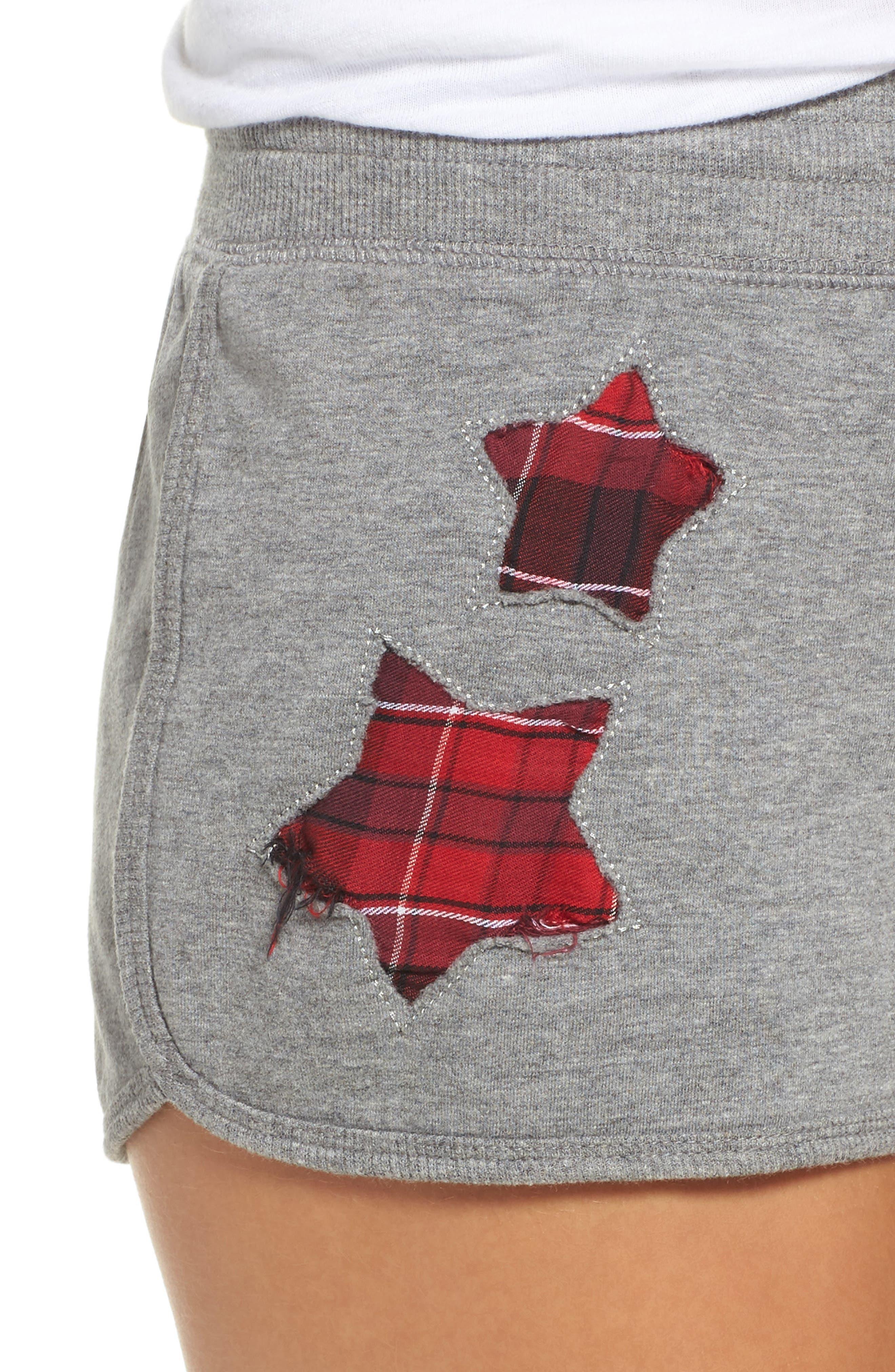 Lounge Shorts,                             Alternate thumbnail 6, color,                             H Grey