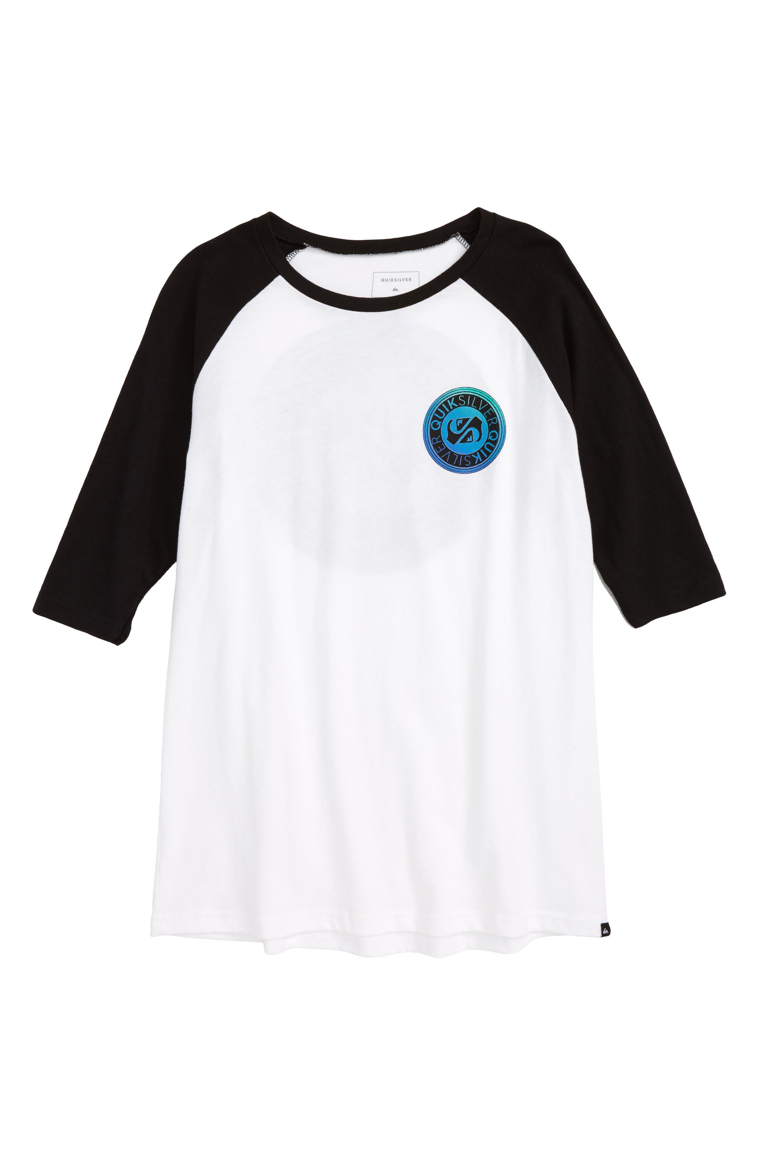 Main Image - Quiksilver International Raglan T-Shirt (Big Boys)