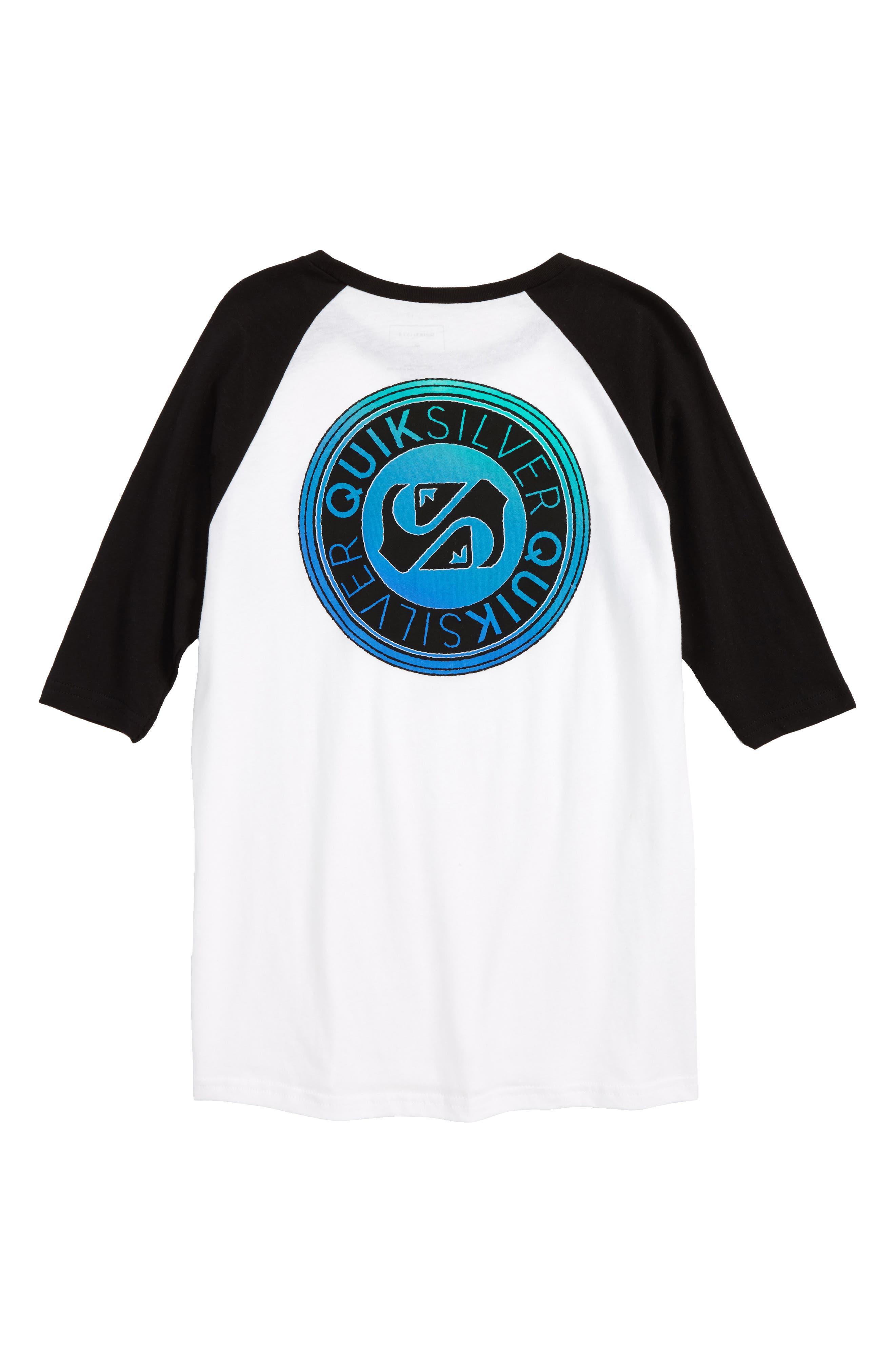 Alternate Image 2  - Quiksilver International Raglan T-Shirt (Big Boys)