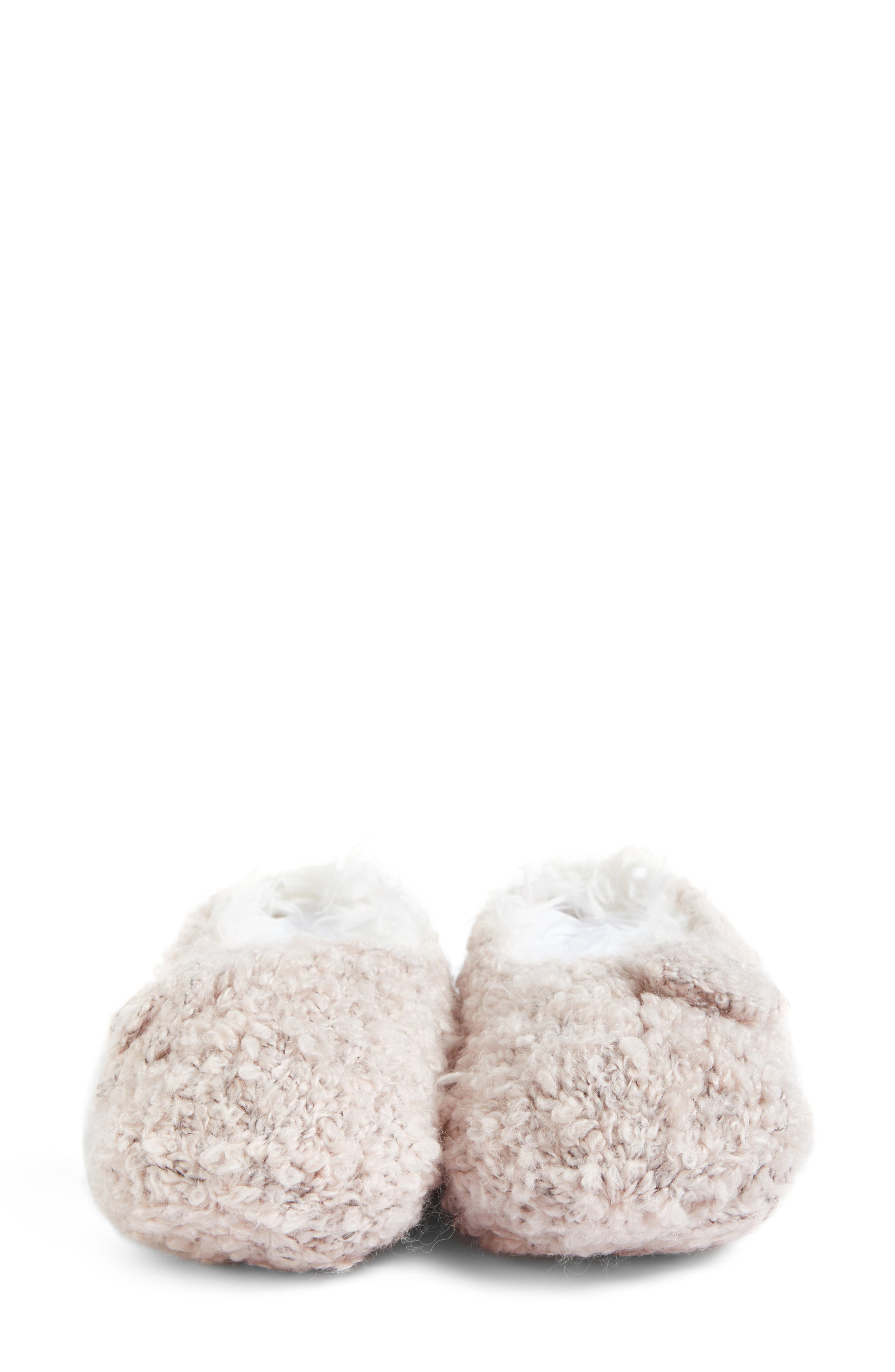 Alternate Image 5  - Lemon Teddy Bear Bootie Slipper Socks