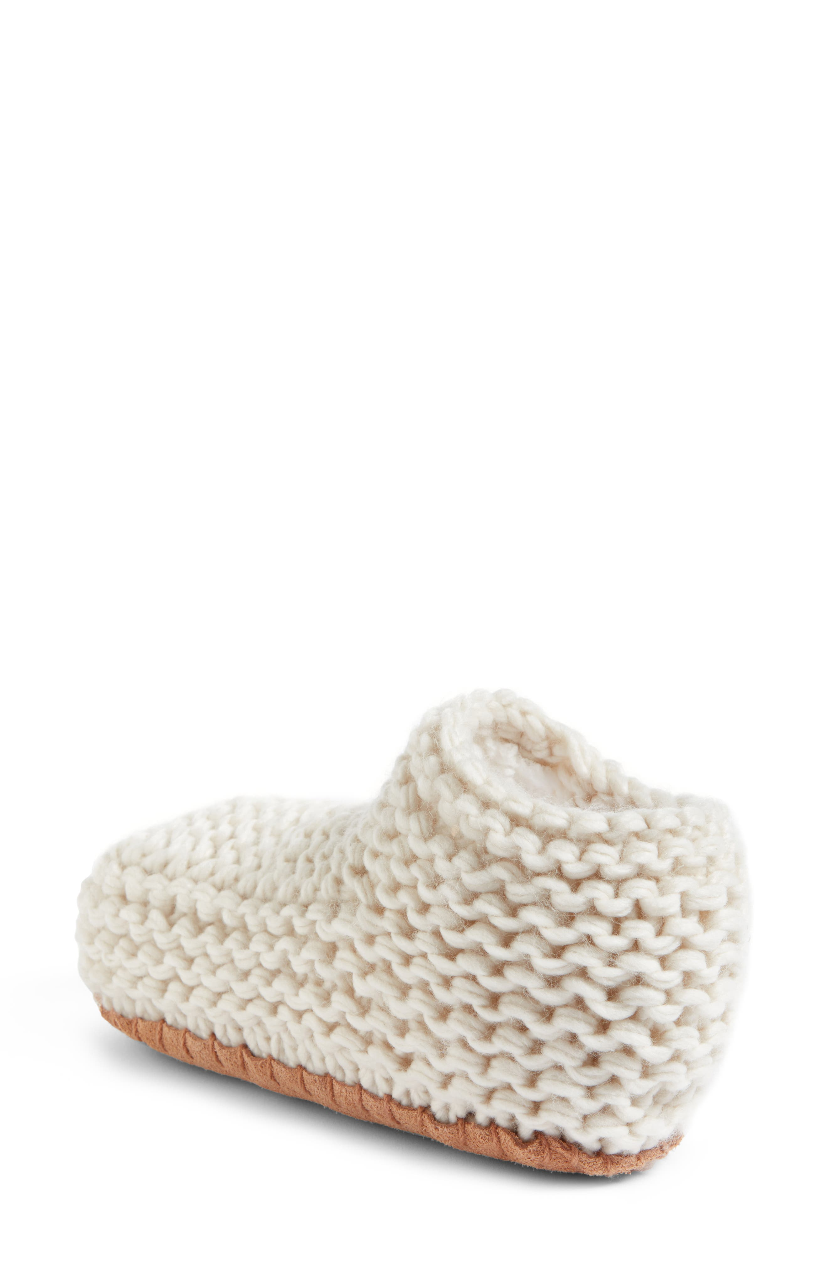Alternate Image 2  - Lemon Knit Slipper Bootie