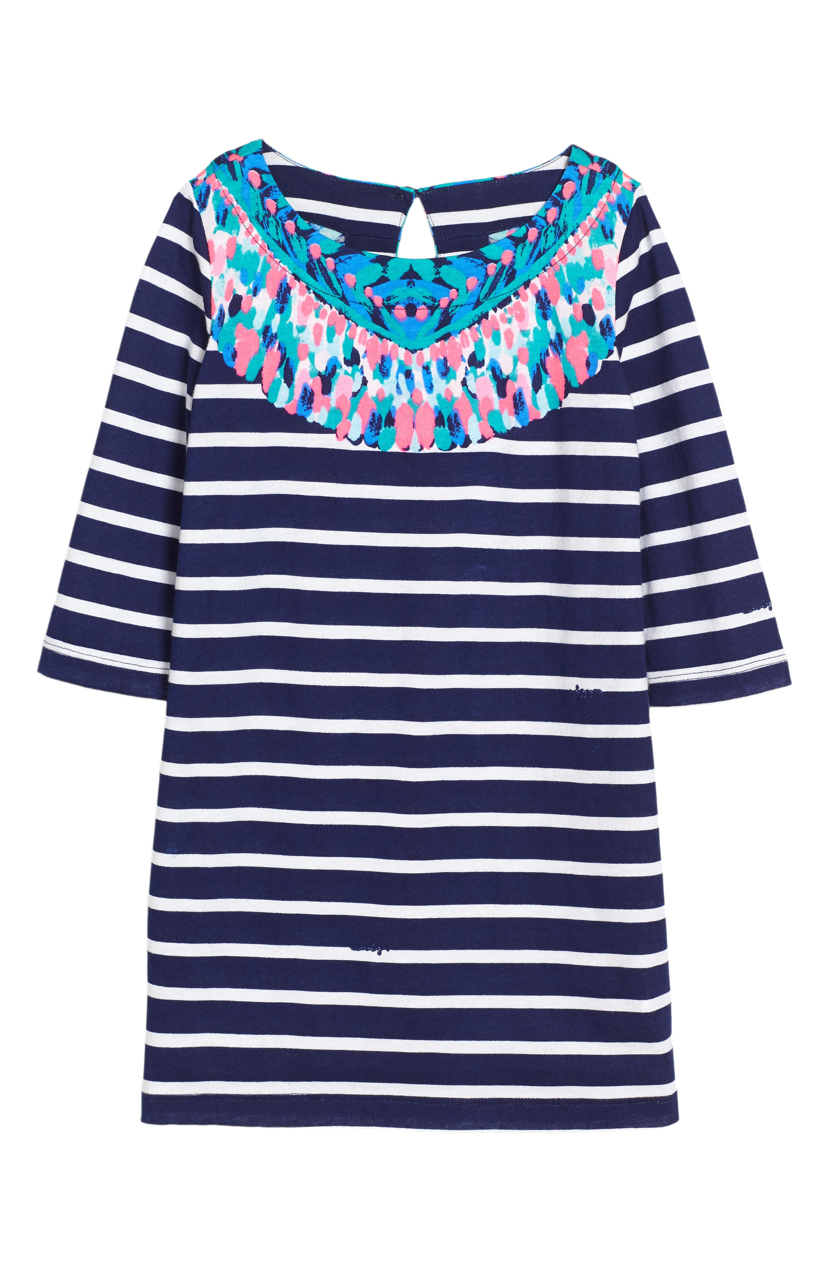 Lilly Pulitzer® Little Bay Stripe Dress (Toddler Girls, Little Girls & Big Girls)