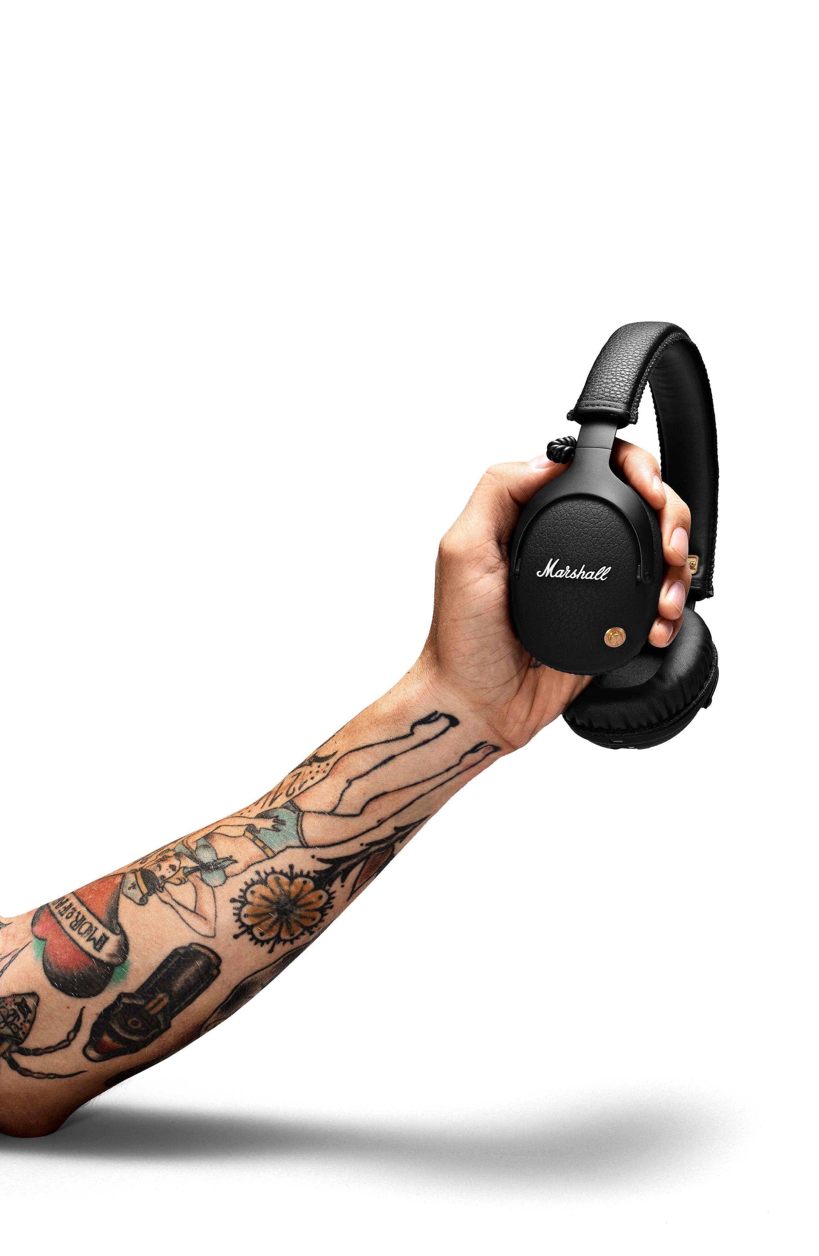 Alternate Image 2  - Marshall Monitor Bluetooth Wireless Over Ear Headphones