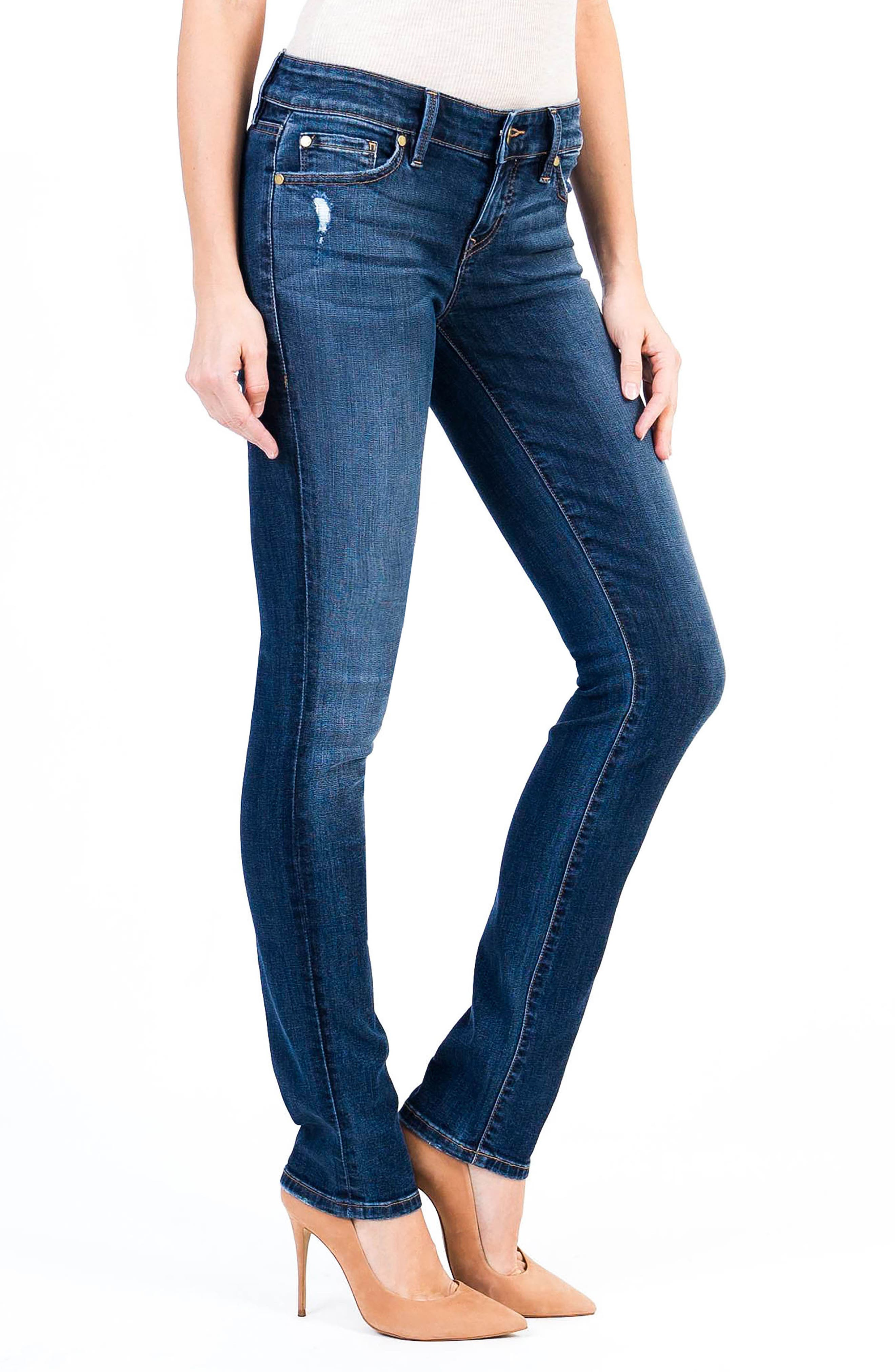 Lily Stretch Skinny Jeans,                             Alternate thumbnail 3, color,                             Von Zep