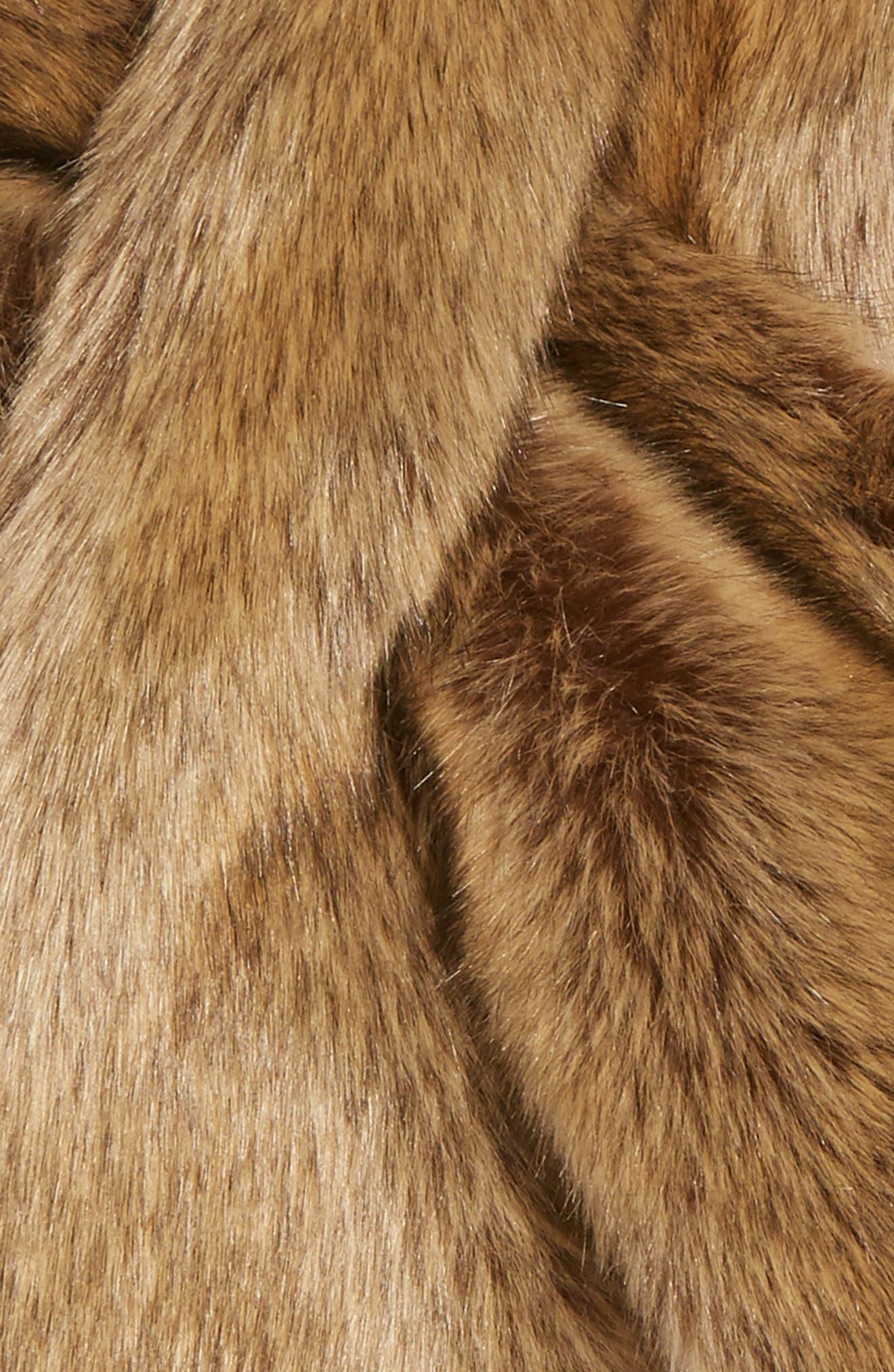 Alternate Image 2  - Sole Society Oversize Faux Fur Wrap