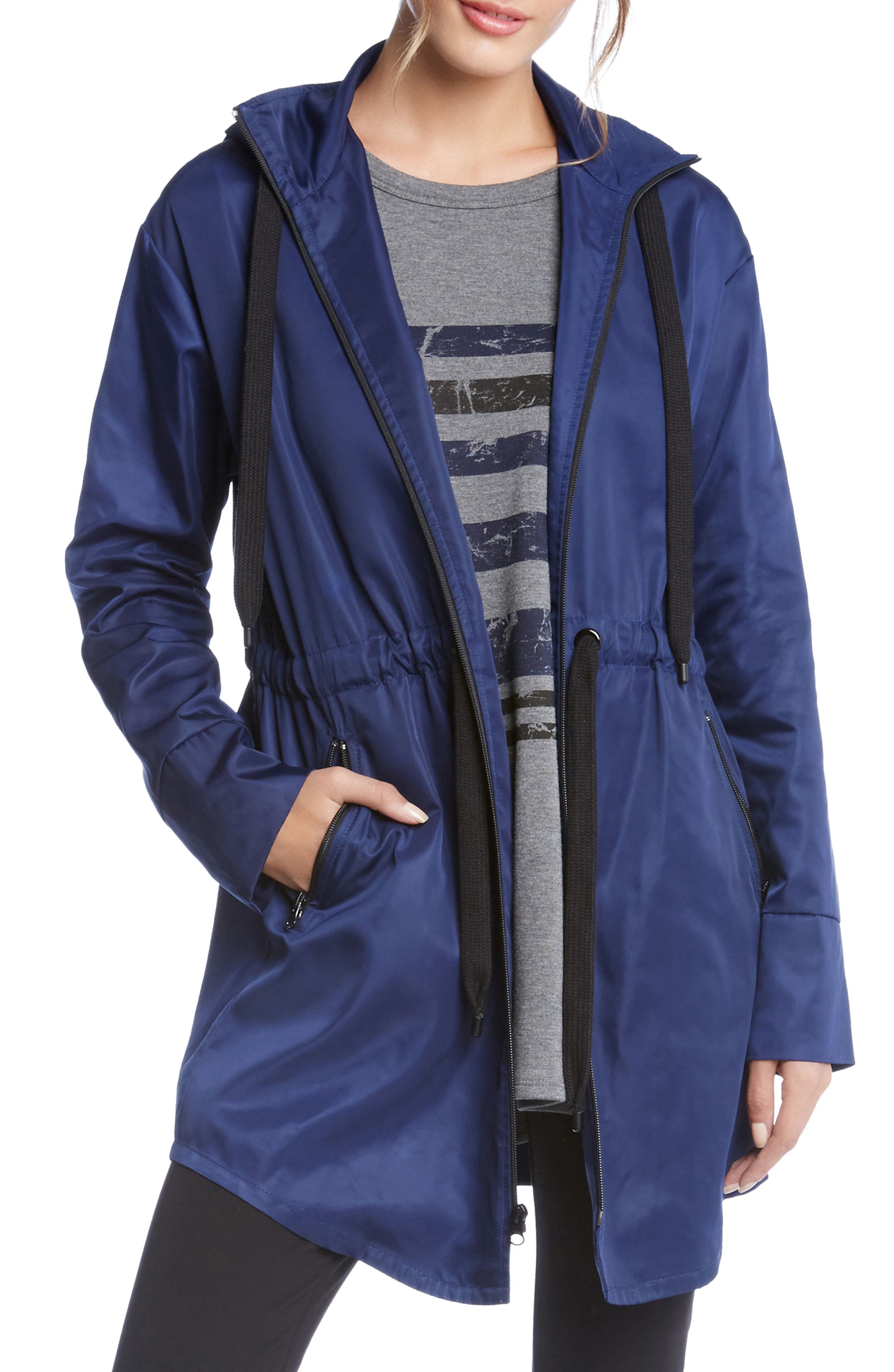 Stay Dry Jacket,                         Main,                         color, Blue