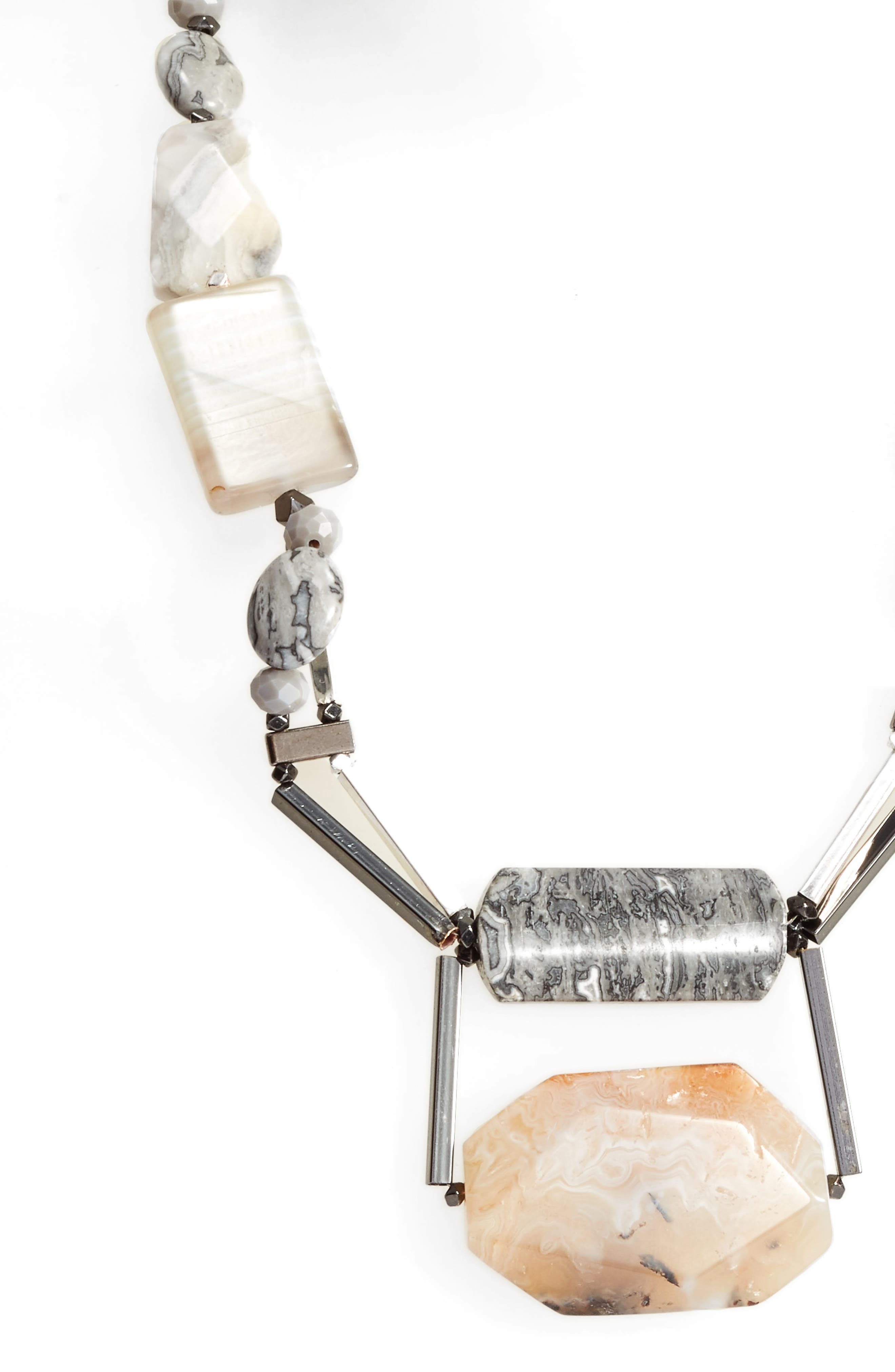 Alternate Image 2  - Nakamol Design Agate & Moonstone Necklace