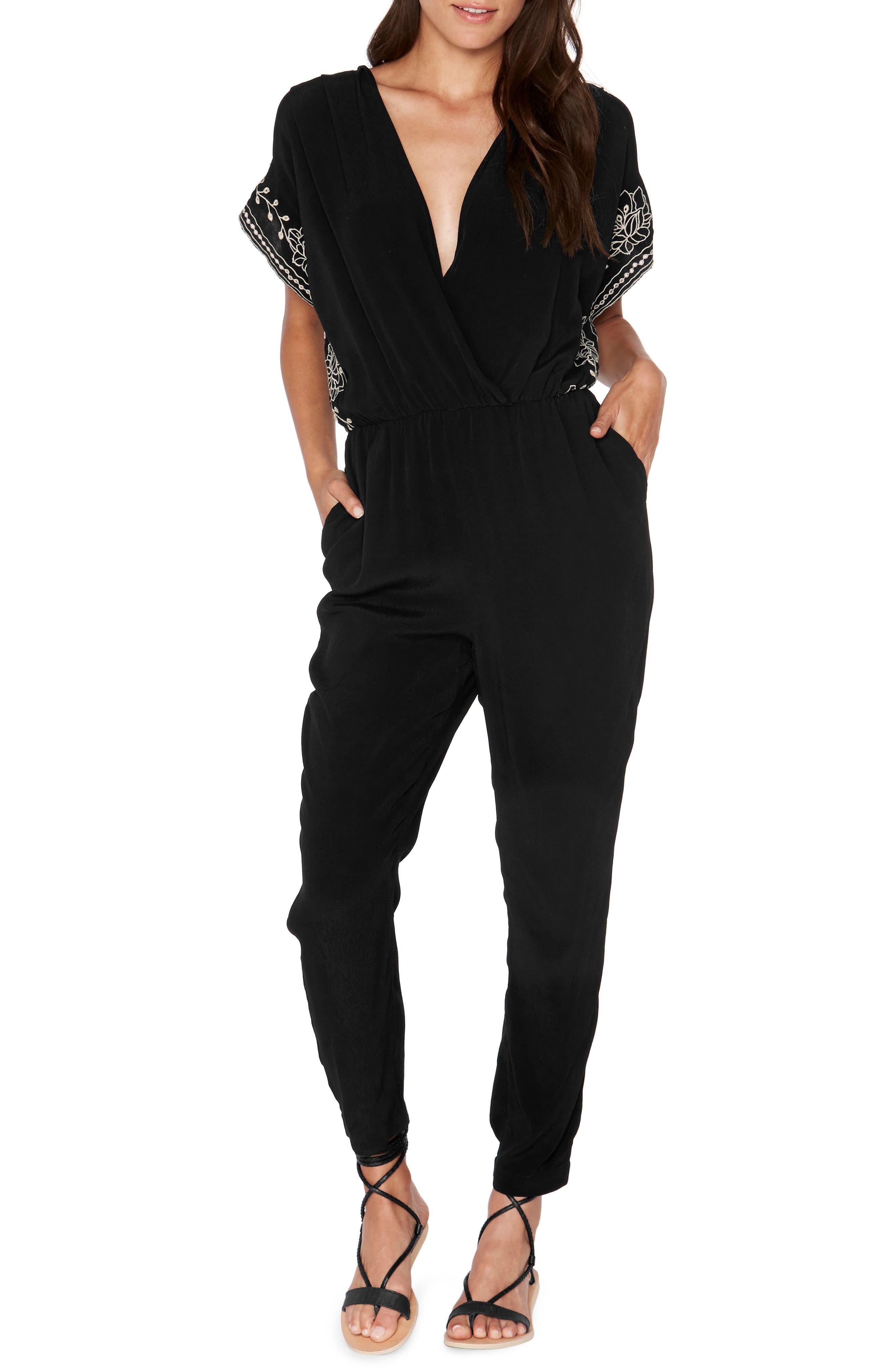 Raquel Cover-Up Jumper,                         Main,                         color, Black
