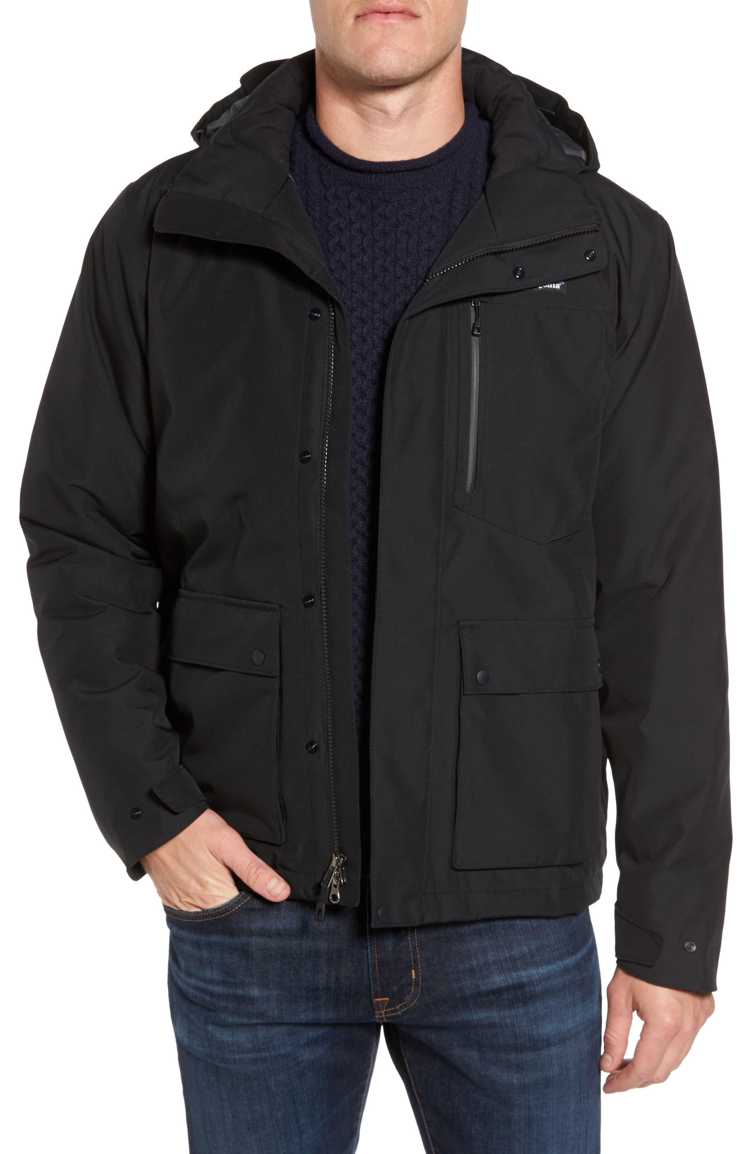 Topley Waterproof Down Jacket,                             Main thumbnail 1, color,                             Black