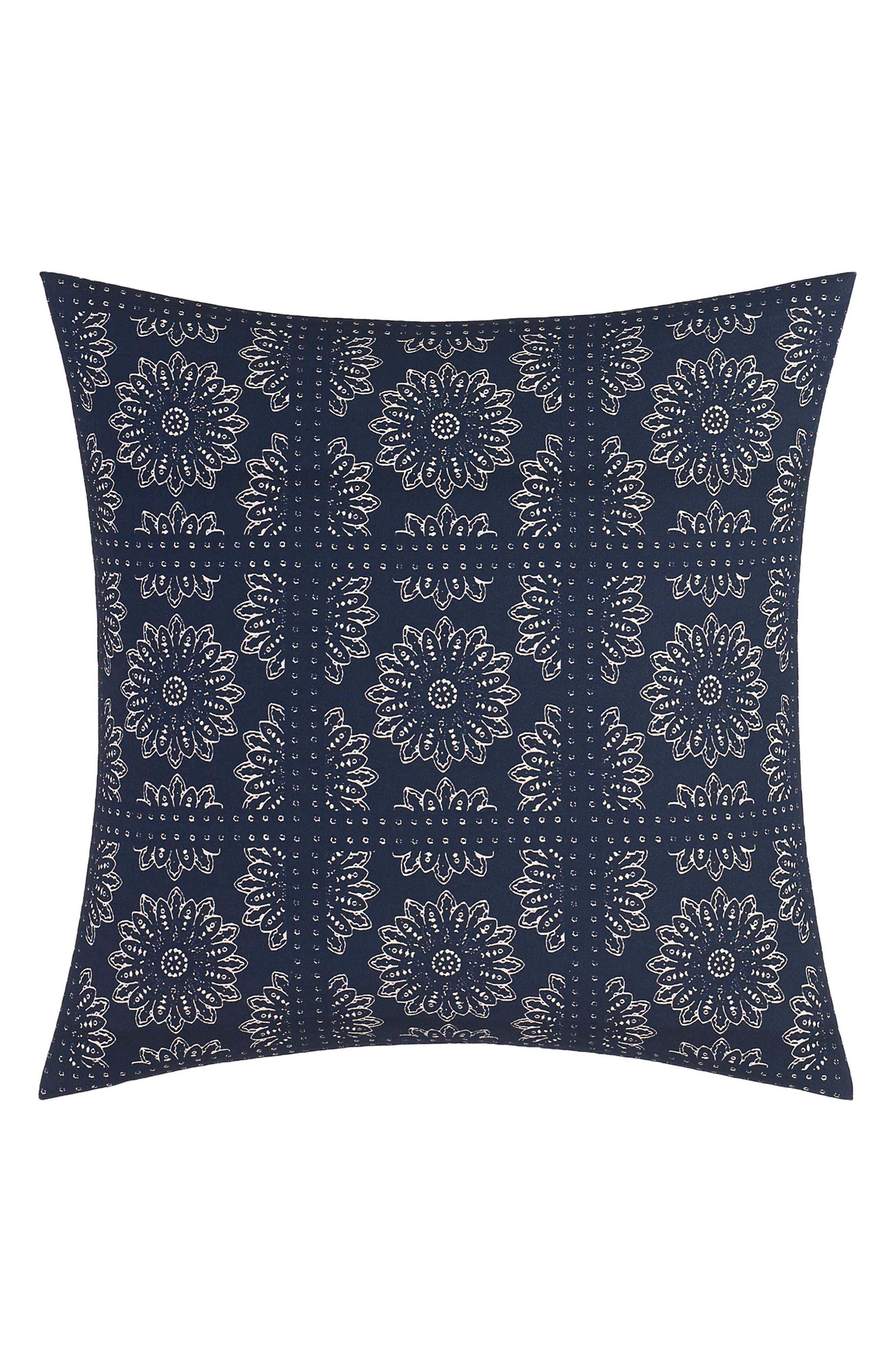 Lockridge Bandana Pillow,                         Main,                         color, Dark Navy