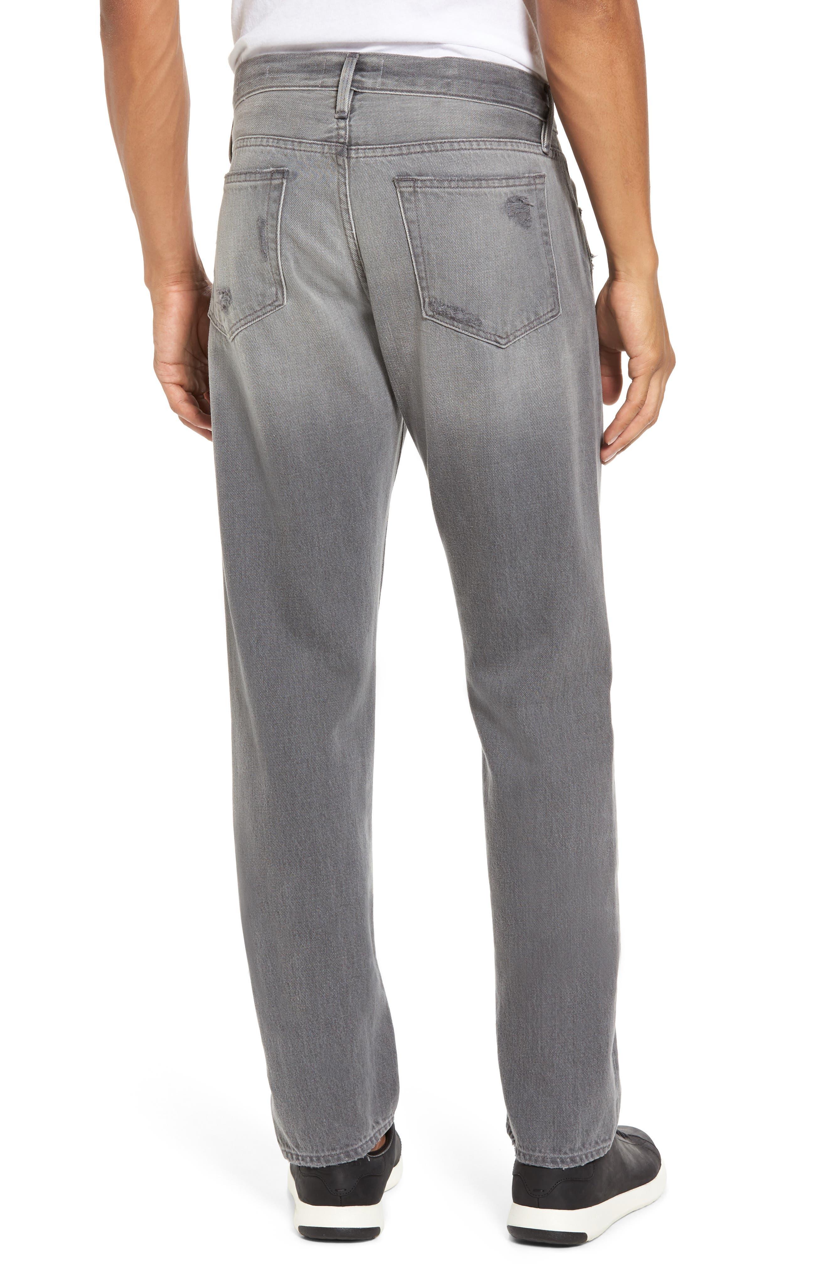 Alternate Image 2  - FRAME L'Homme Slim Fit Jeans (Grey Fox)