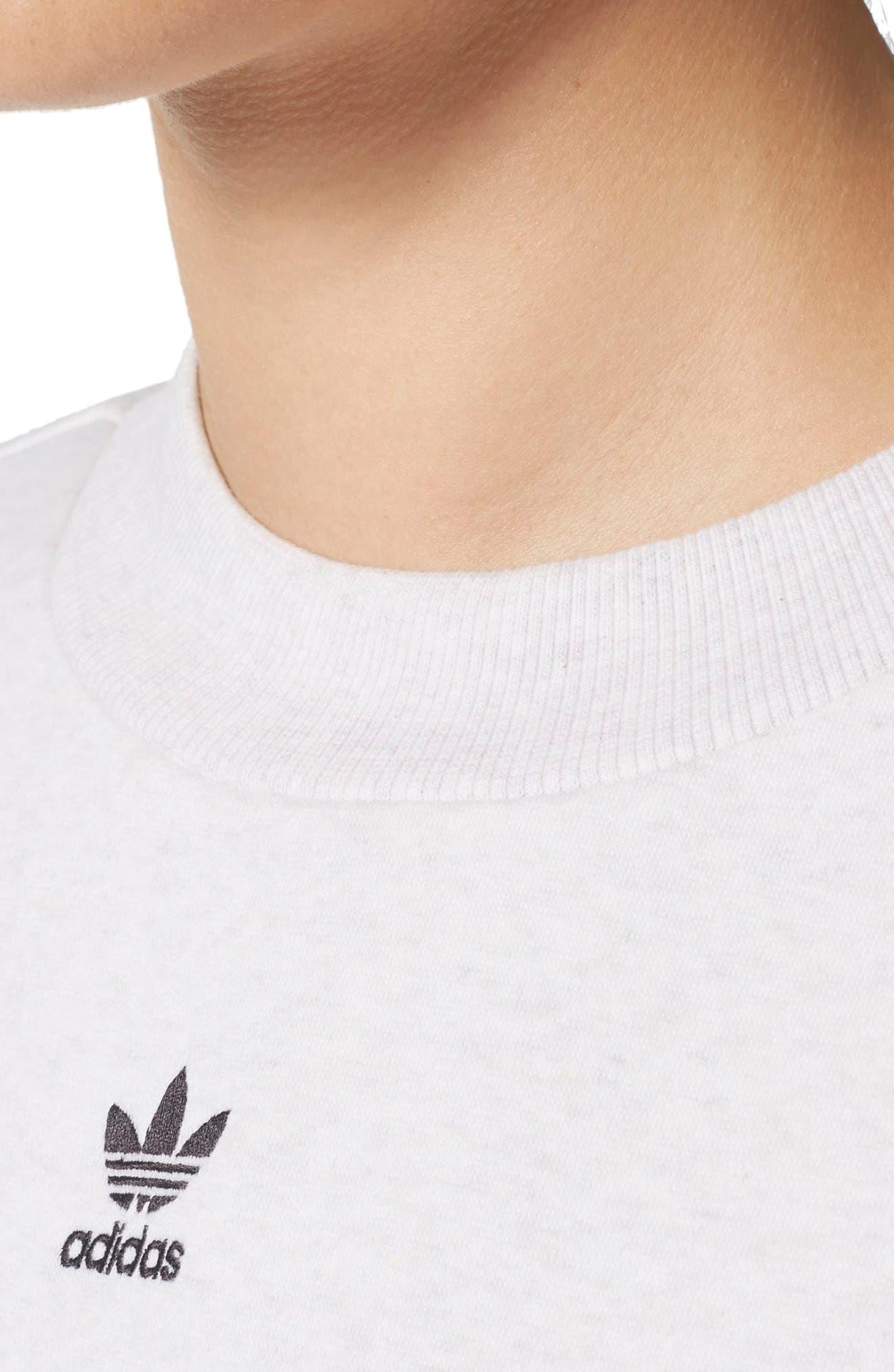 Logo Sweatshirt,                             Alternate thumbnail 7, color,                             Cream Melange
