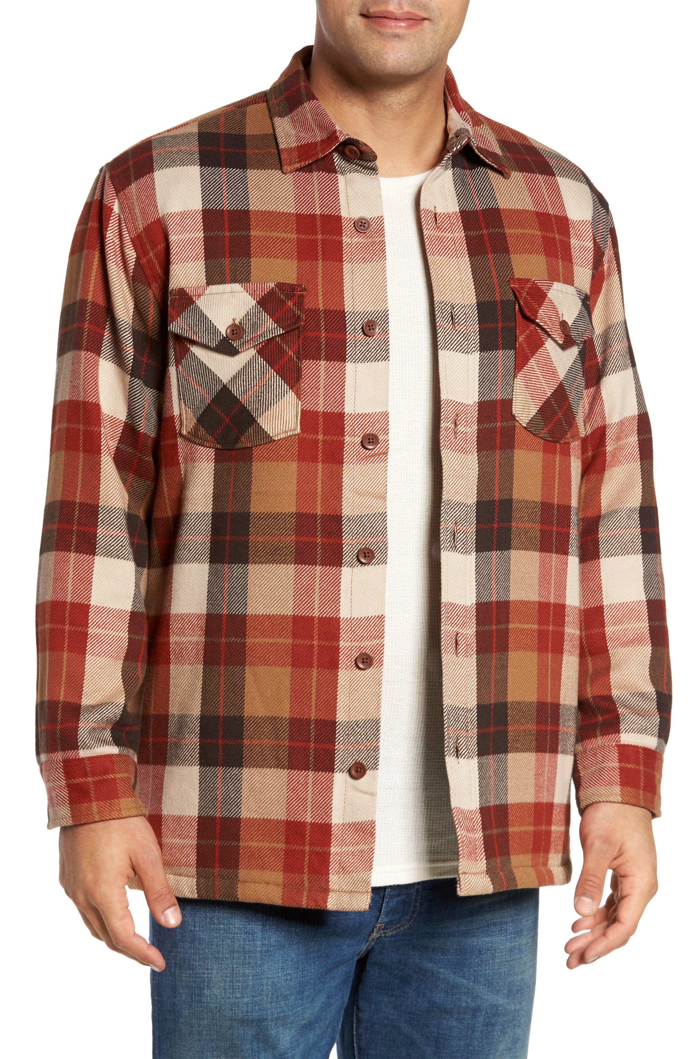 Pendleton Landslide Plaid Shirt Jacket
