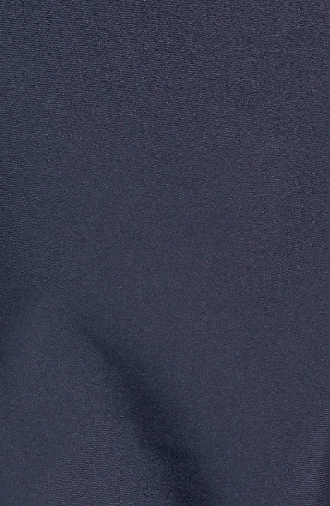 New England Patriots - Beacon WeatherTec Wind & Water Resistant Jacket,                             Alternate thumbnail 3, color,                             Navy Blue