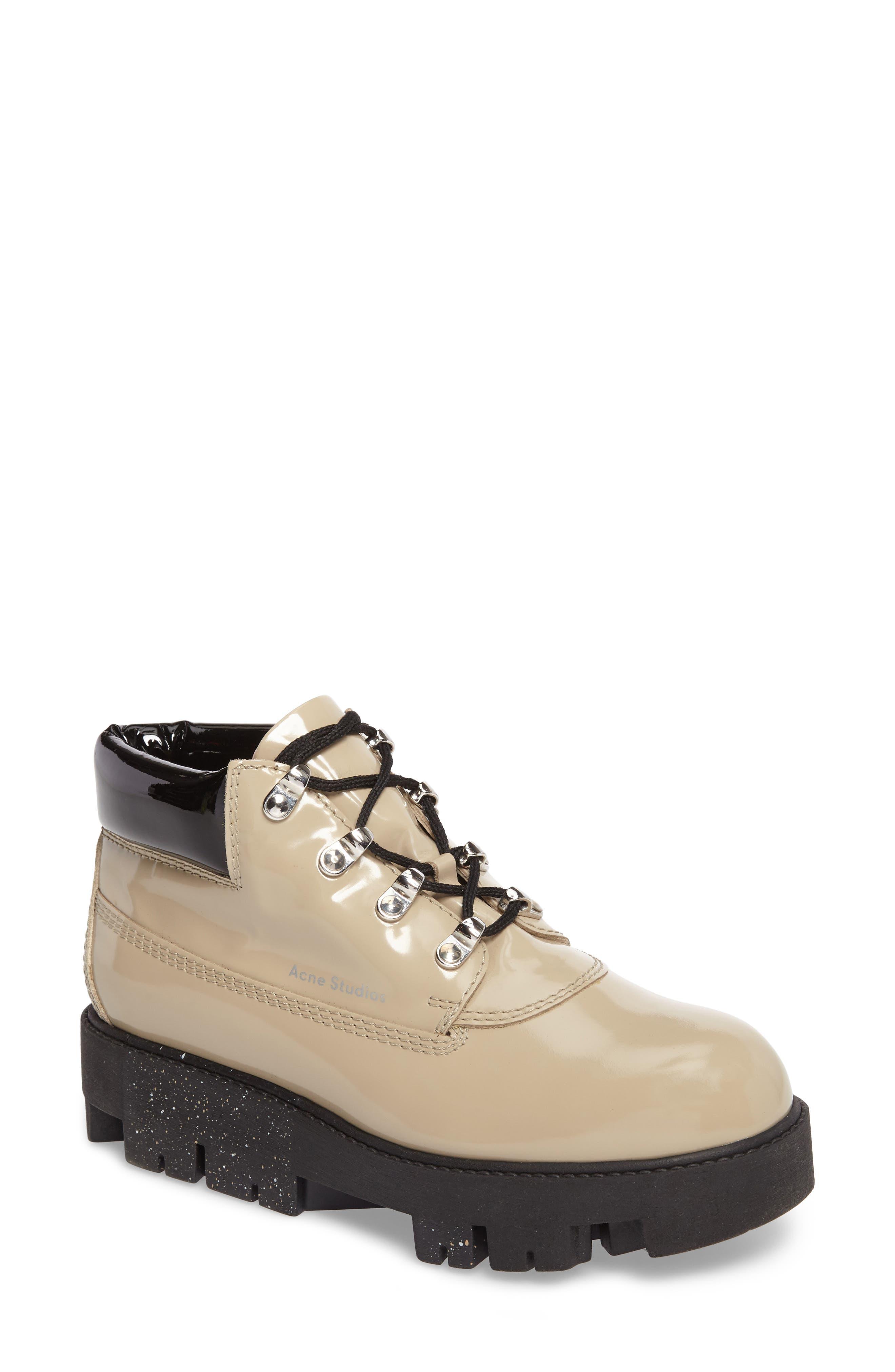 Acne Studios Tinne Lugged Platform Boot (Women)