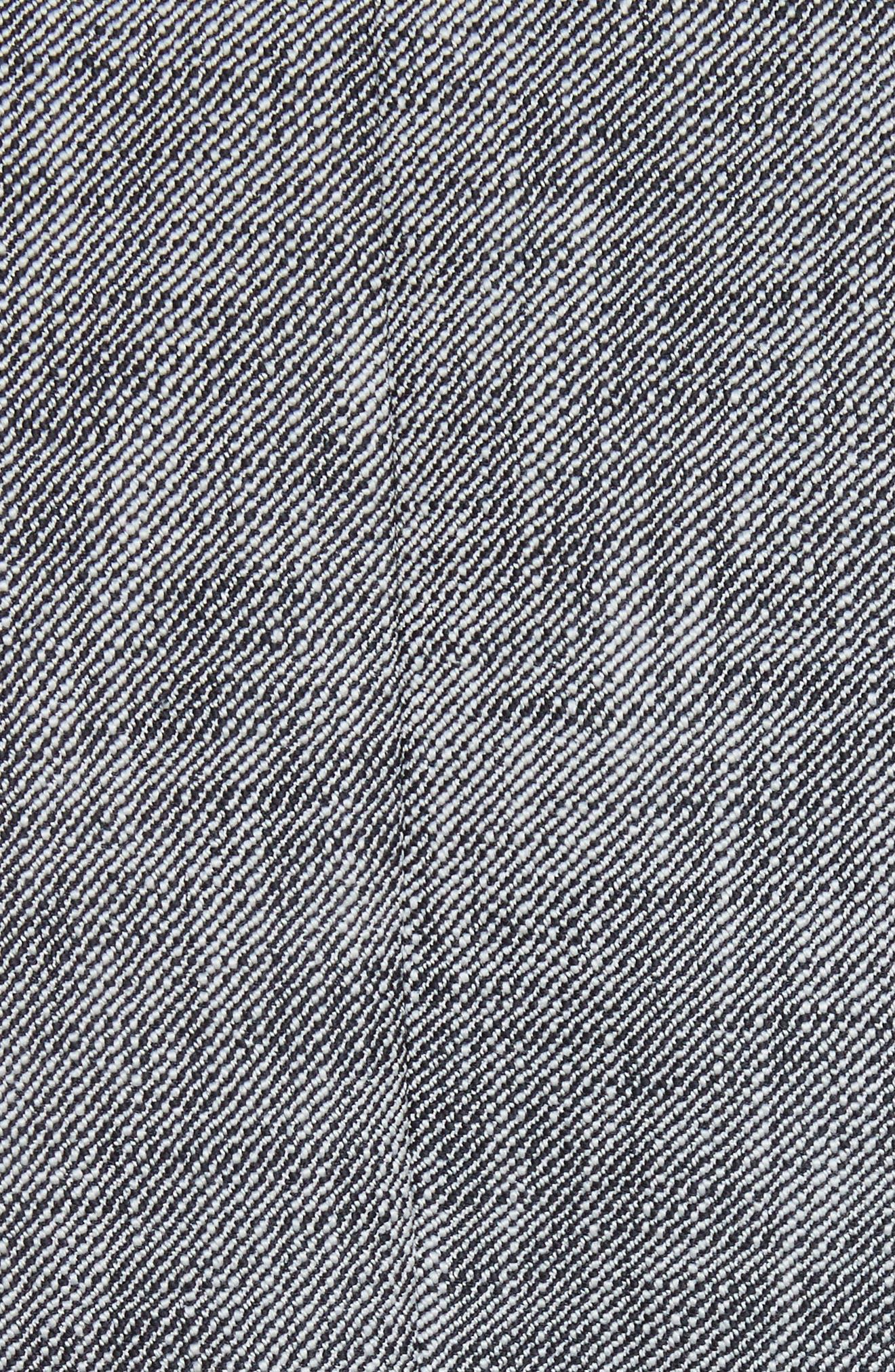 Slub Suiting Jacket,                             Alternate thumbnail 5, color,                             Grey/ Black Combo