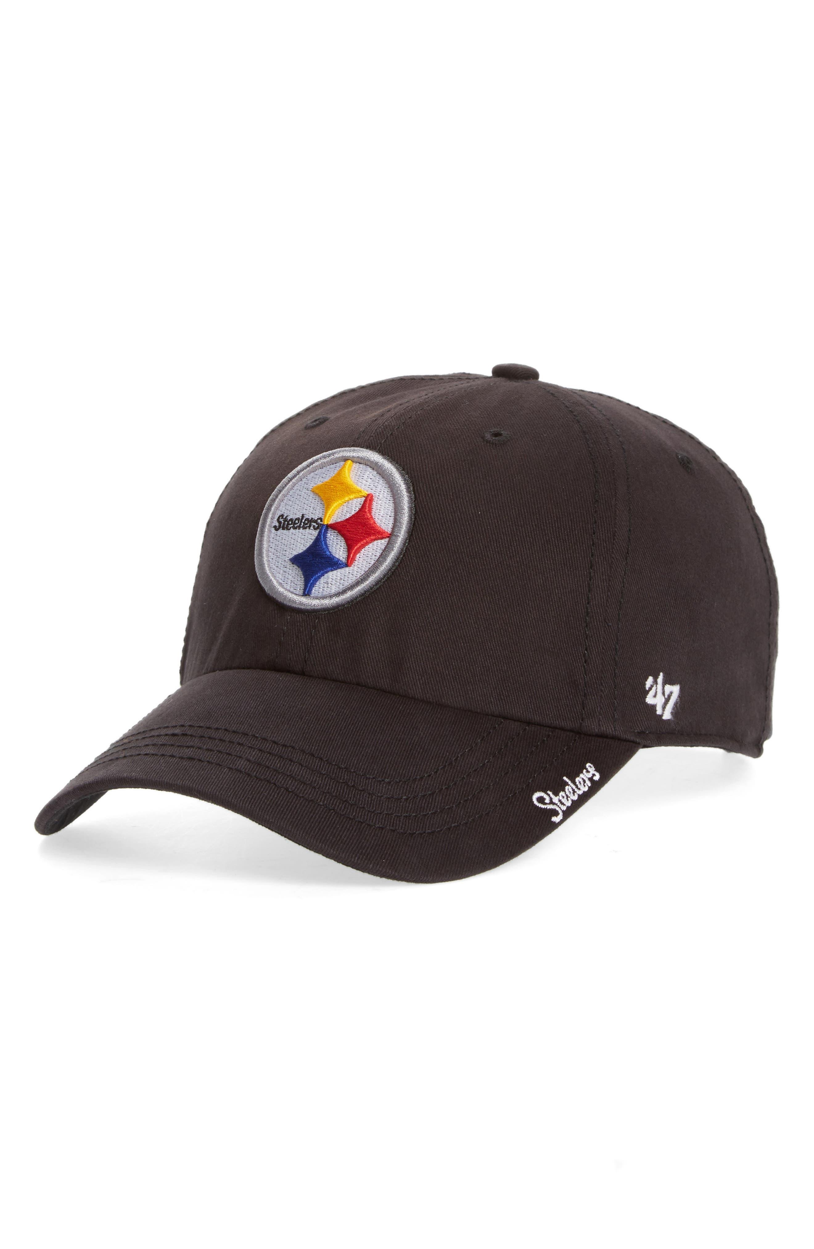 Pittsburgh Steelers Cap,                         Main,                         color, Black