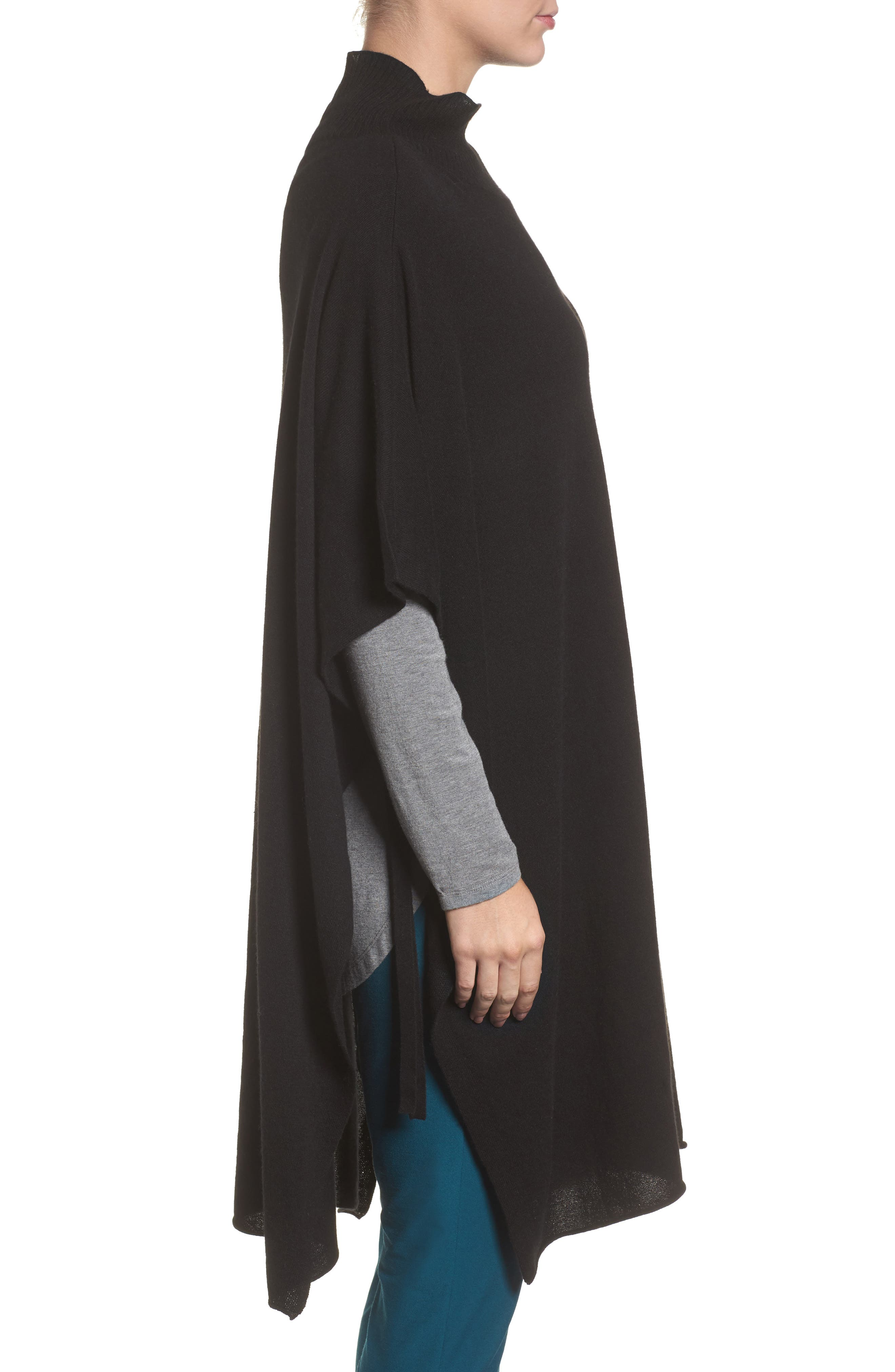 Alternate Image 3  - Eileen Fisher Cashmere Poncho