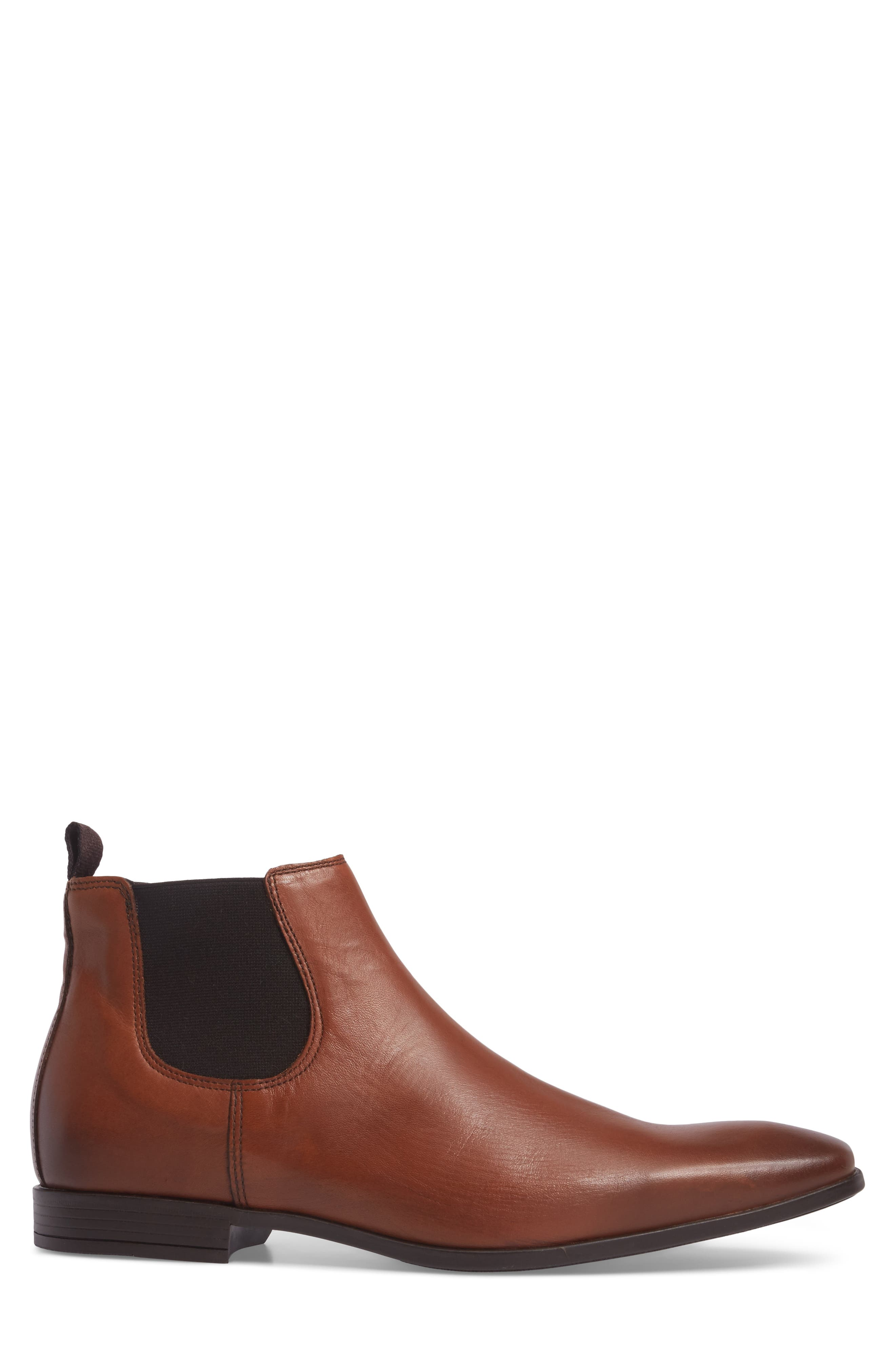 'Canton' Chelsea Boot,                             Alternate thumbnail 3, color,                             Tan Leather