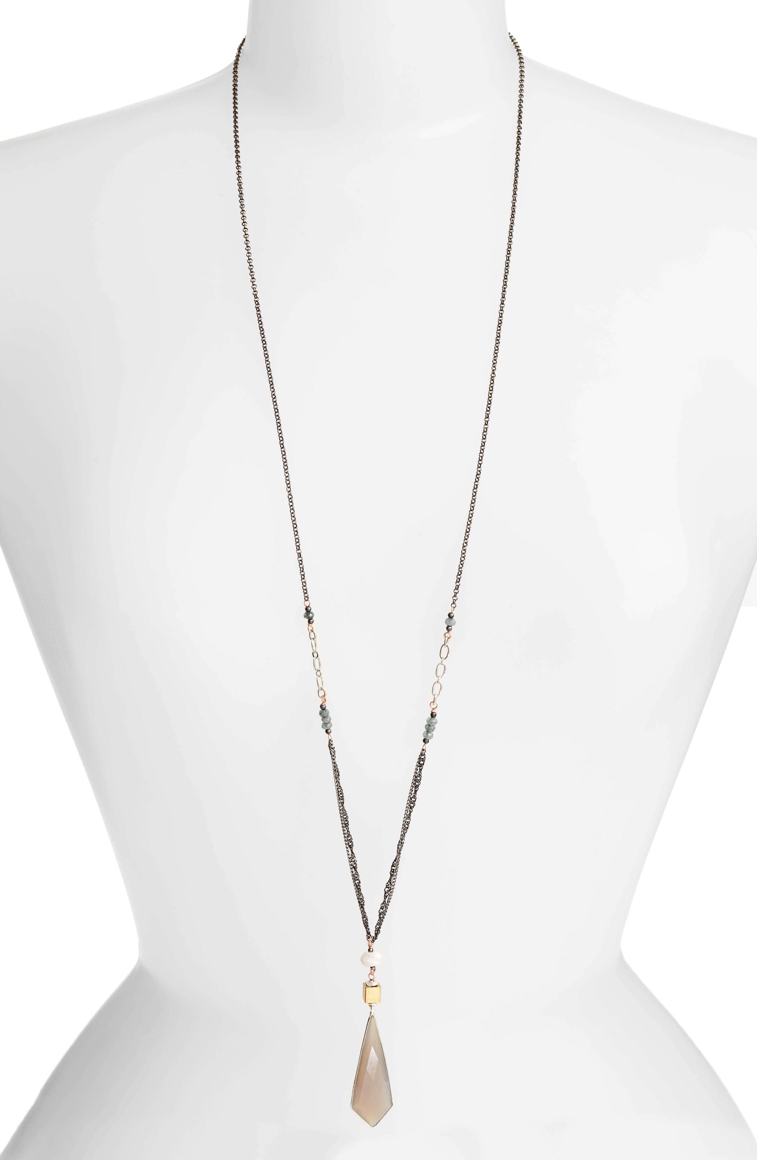 Nakamol Design Long Pendant Necklace