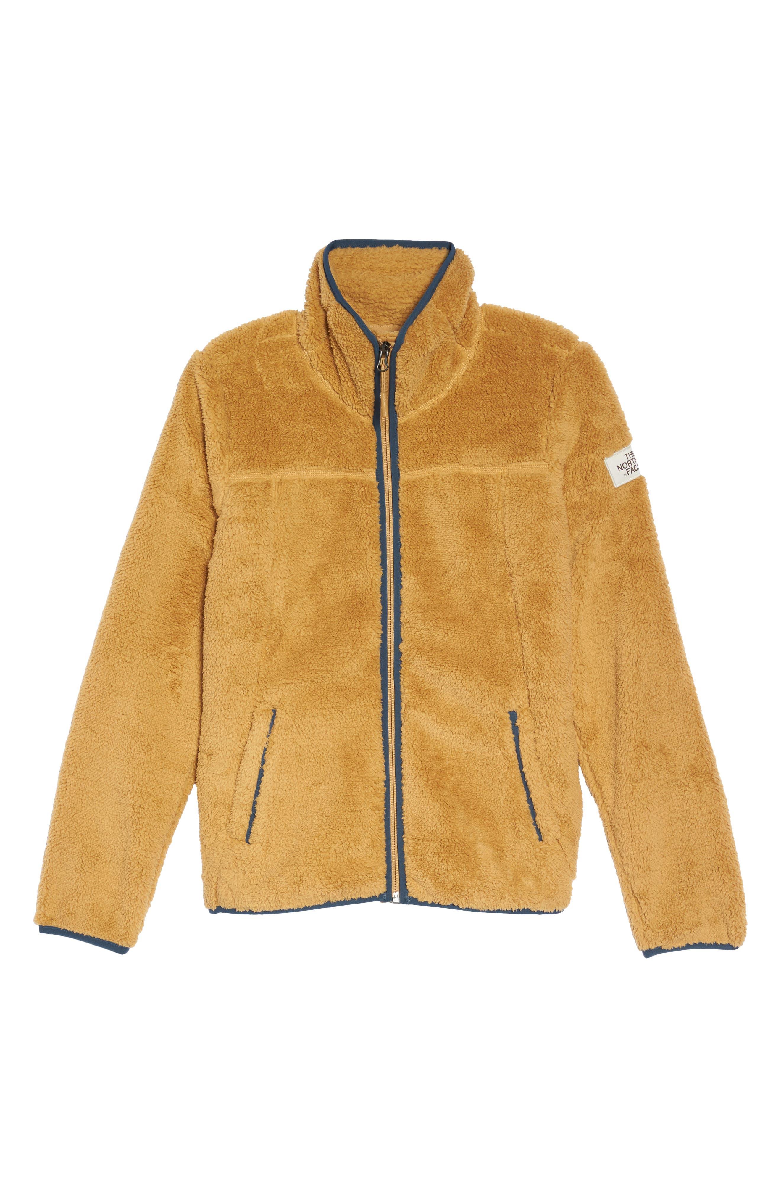 Campshire Zip Jacket,                             Alternate thumbnail 7, color,                             Biscuit Tan