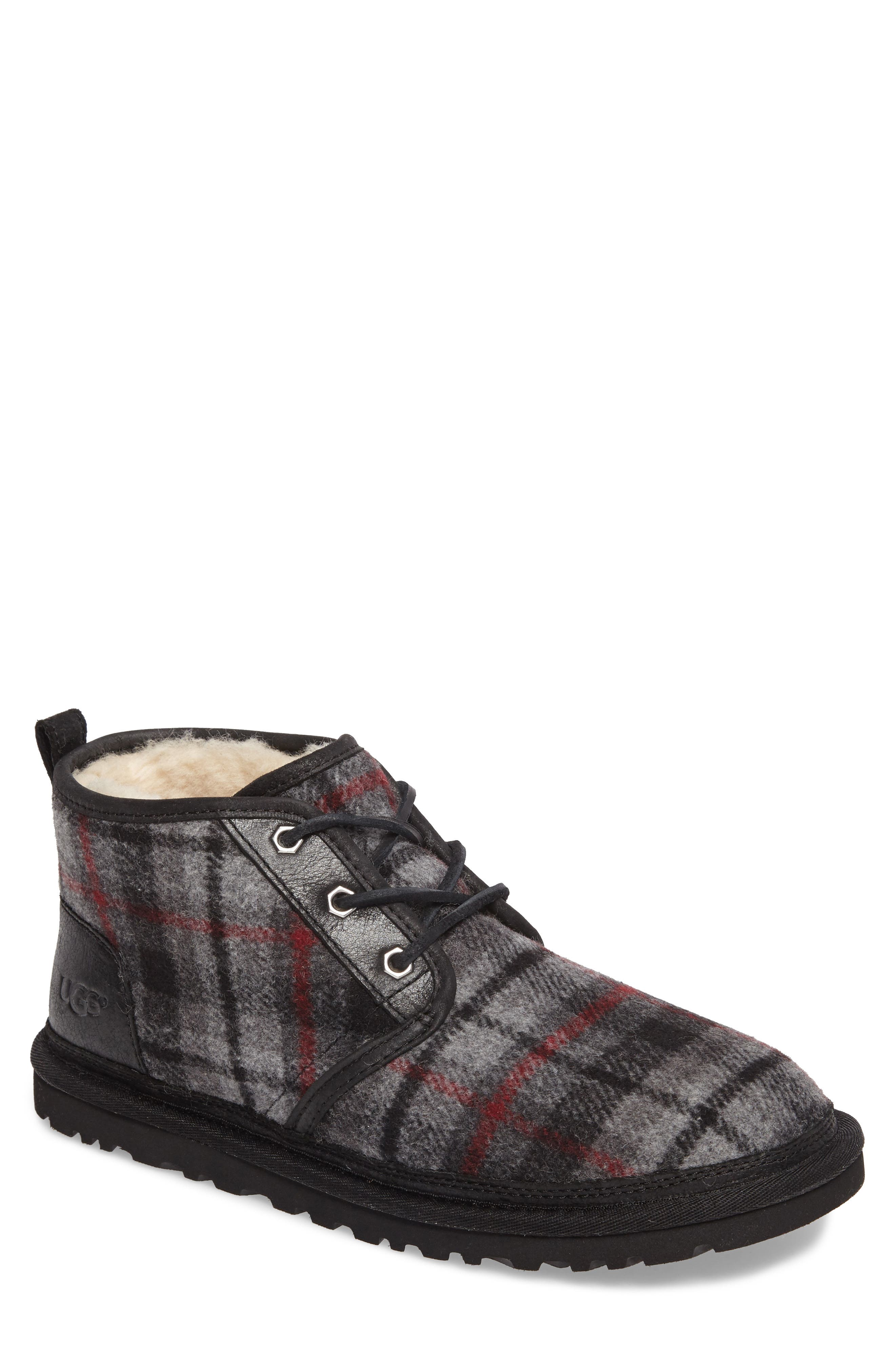 Neumel Chukka Boot,                         Main,                         color, Tartan Plaid