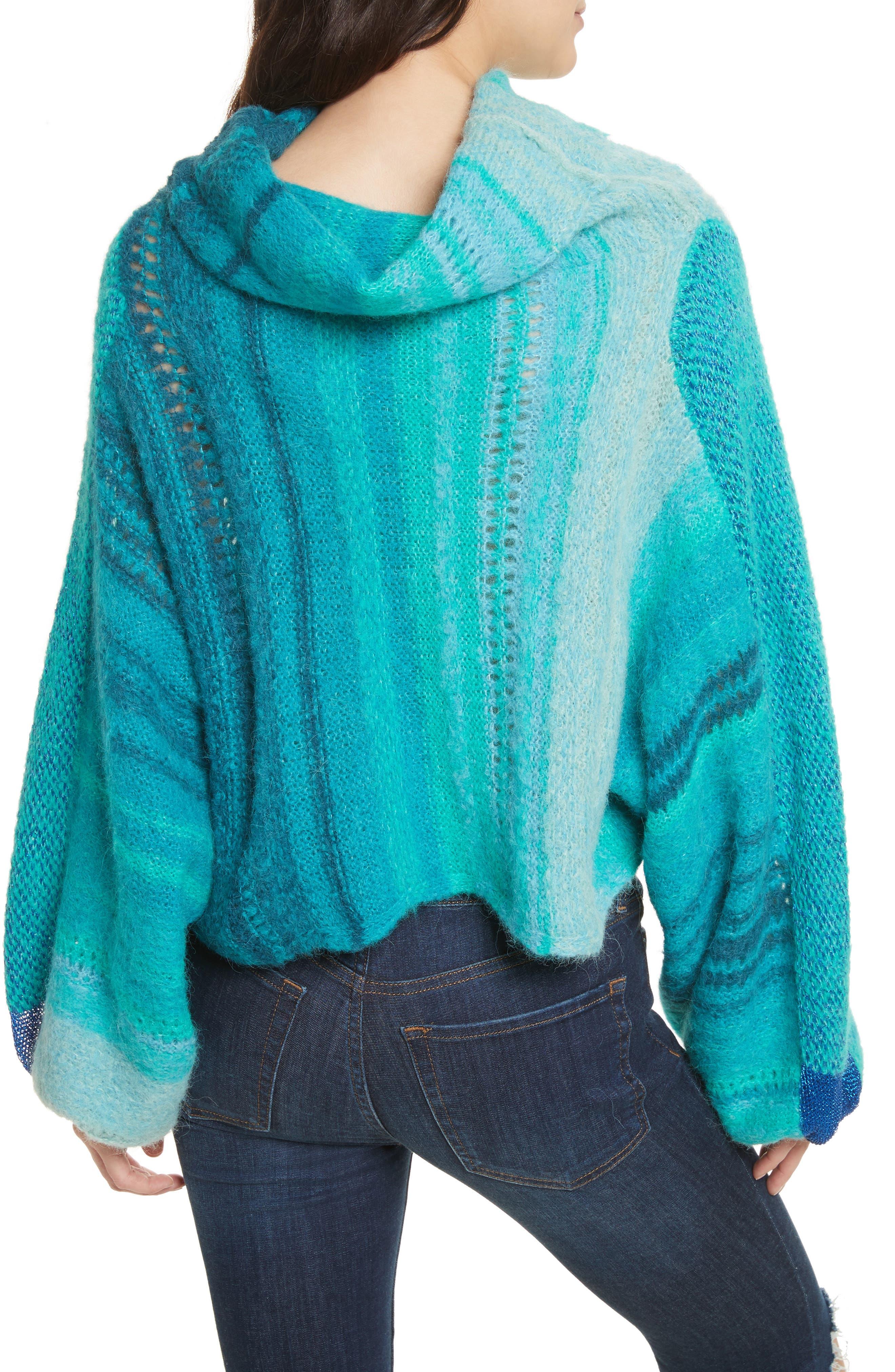Cloud Kicker Sweater,                             Alternate thumbnail 2, color,                             Blue Combo