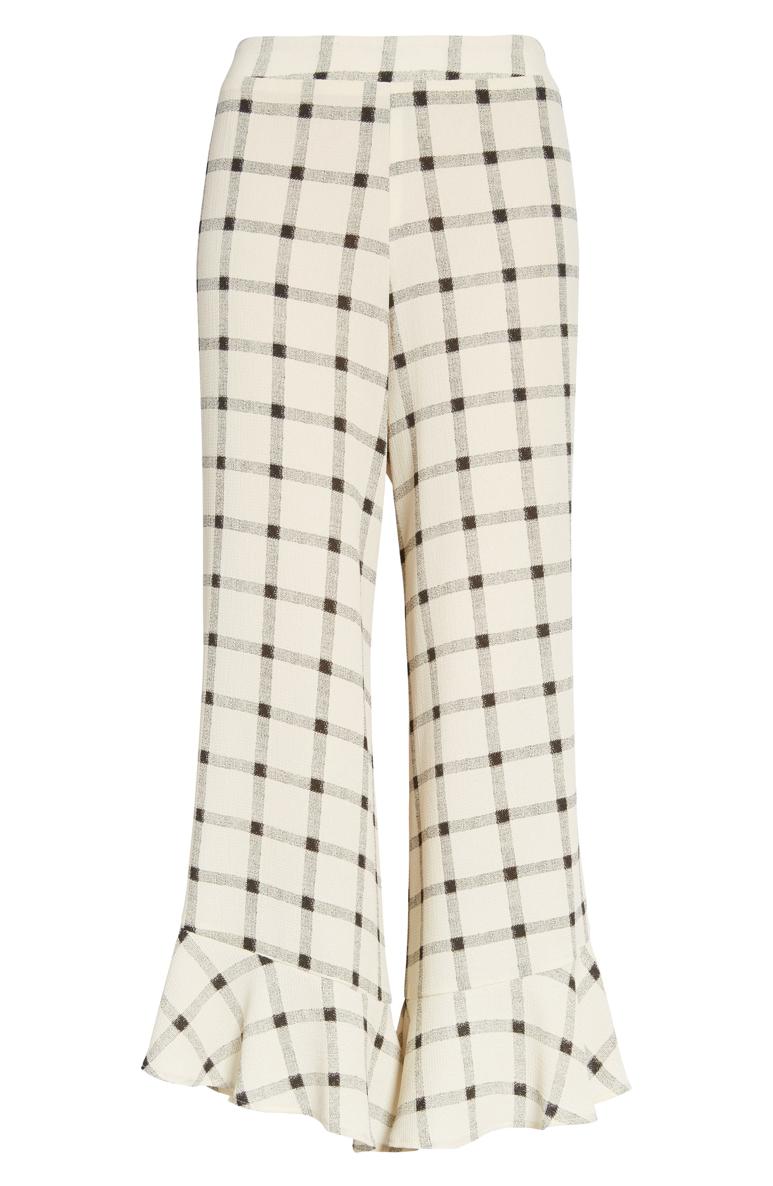 Alternate Image 2  - Mimi Chica Ruffle Hem Crop Pants