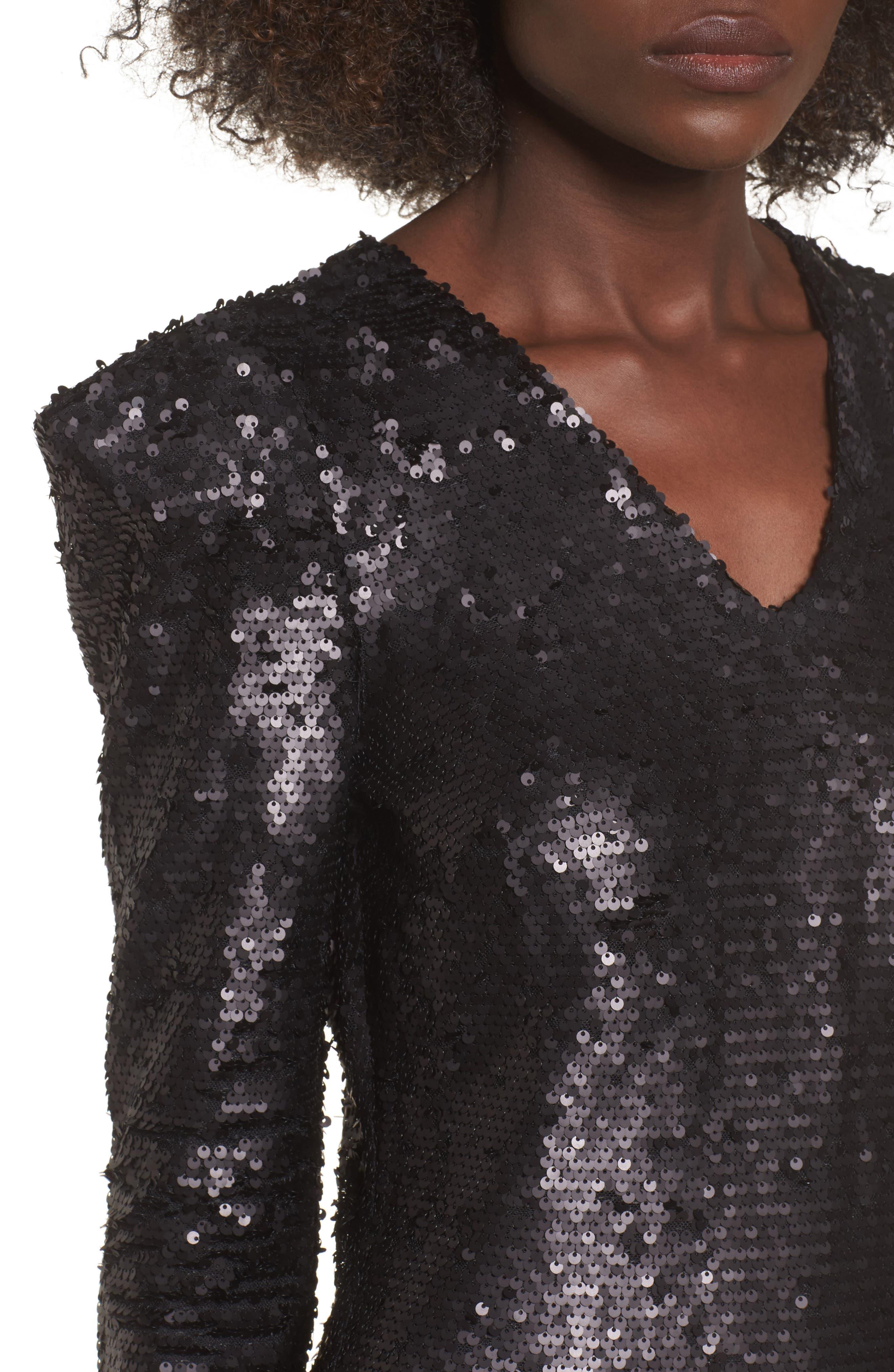 Alternate Image 4  - Leith Sequin Dress