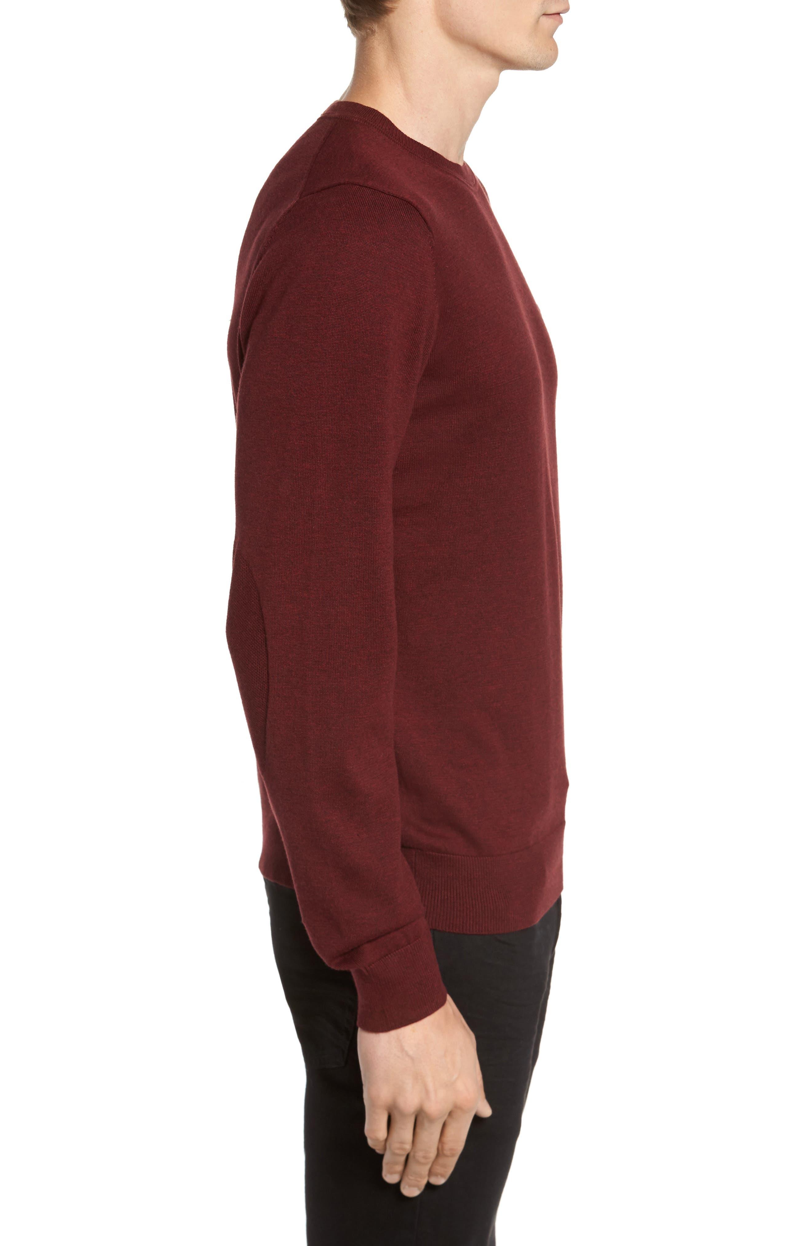 Alternate Image 3  - Lacoste Jersey Knit Crewneck Sweater