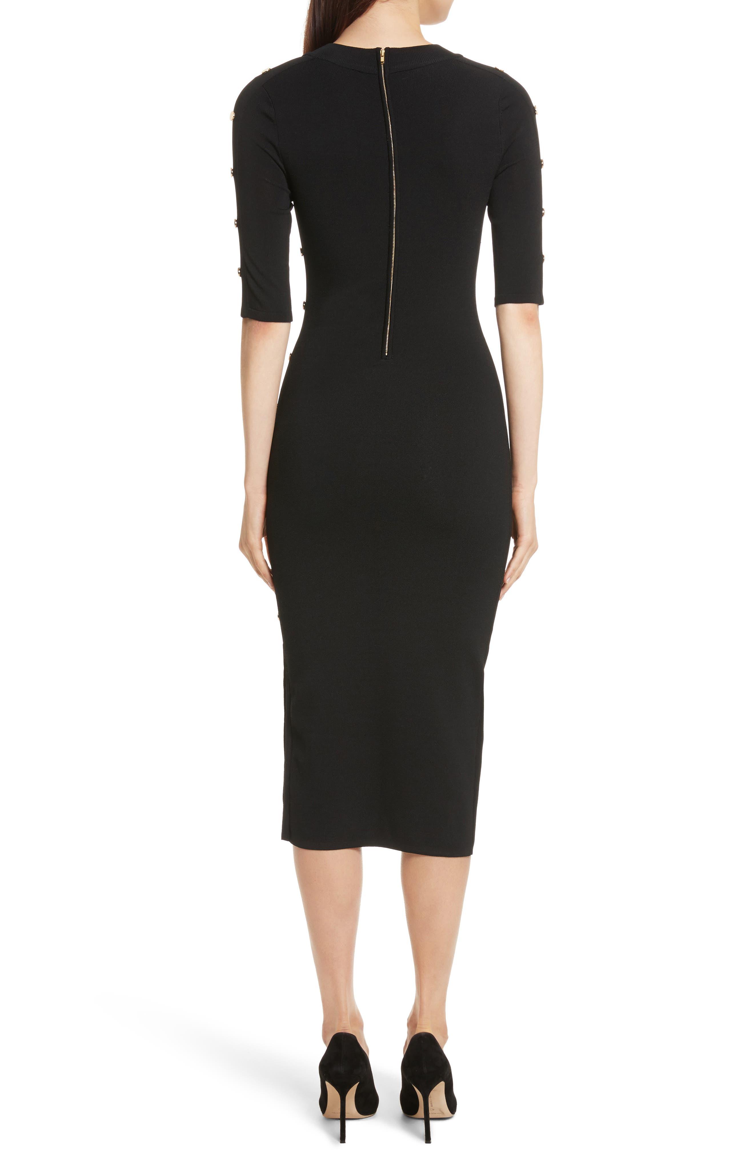 Alternate Image 2  - Veronica Beard Joss Body-Con Knit Dress