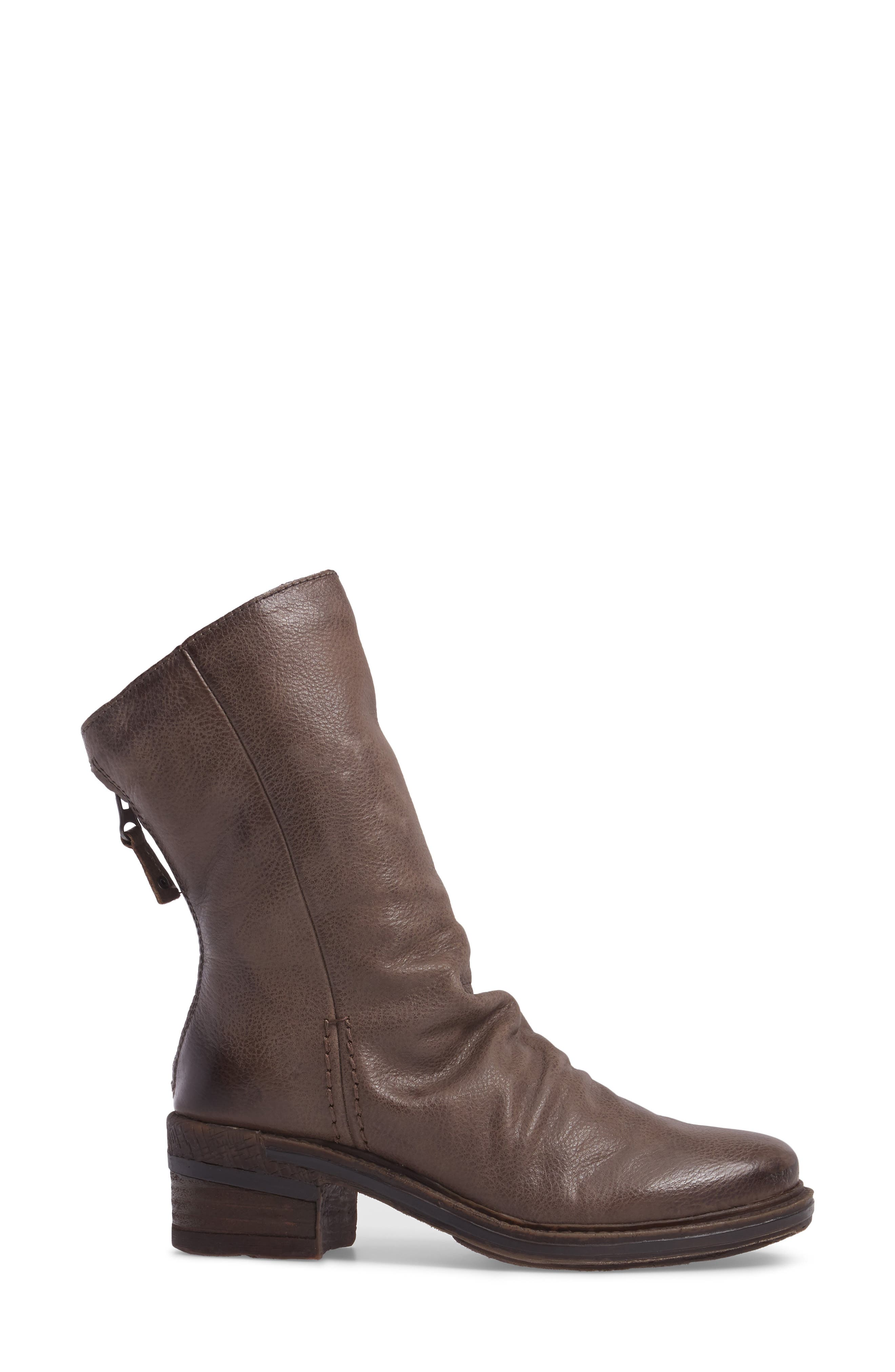 Fernweh Slouchy Bootie,                             Alternate thumbnail 3, color,                             Mint Leather