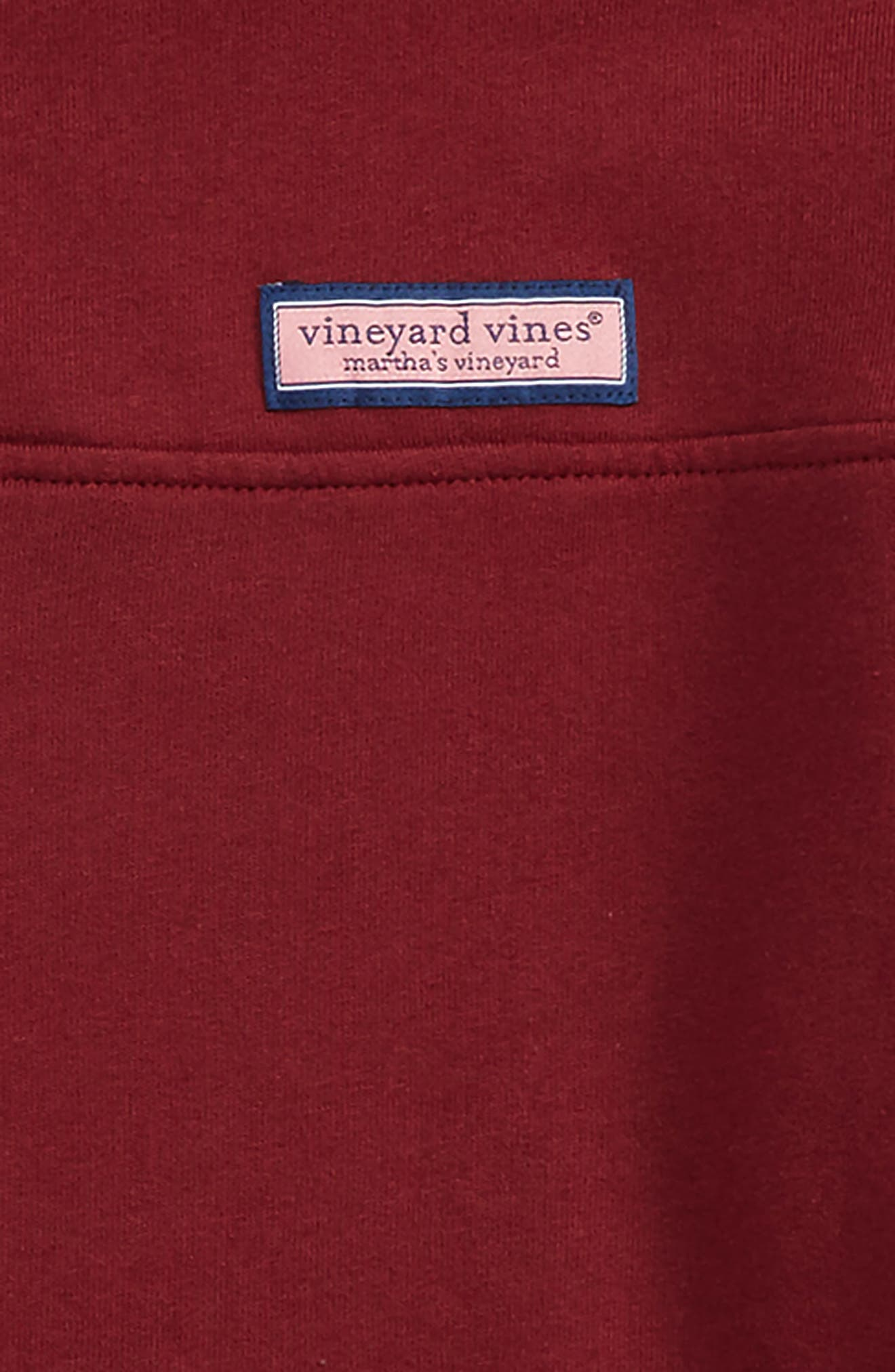 Alternate Image 2  - Vineyard Vines Classic Shep Quarter Zip Pullover (Big Boys)