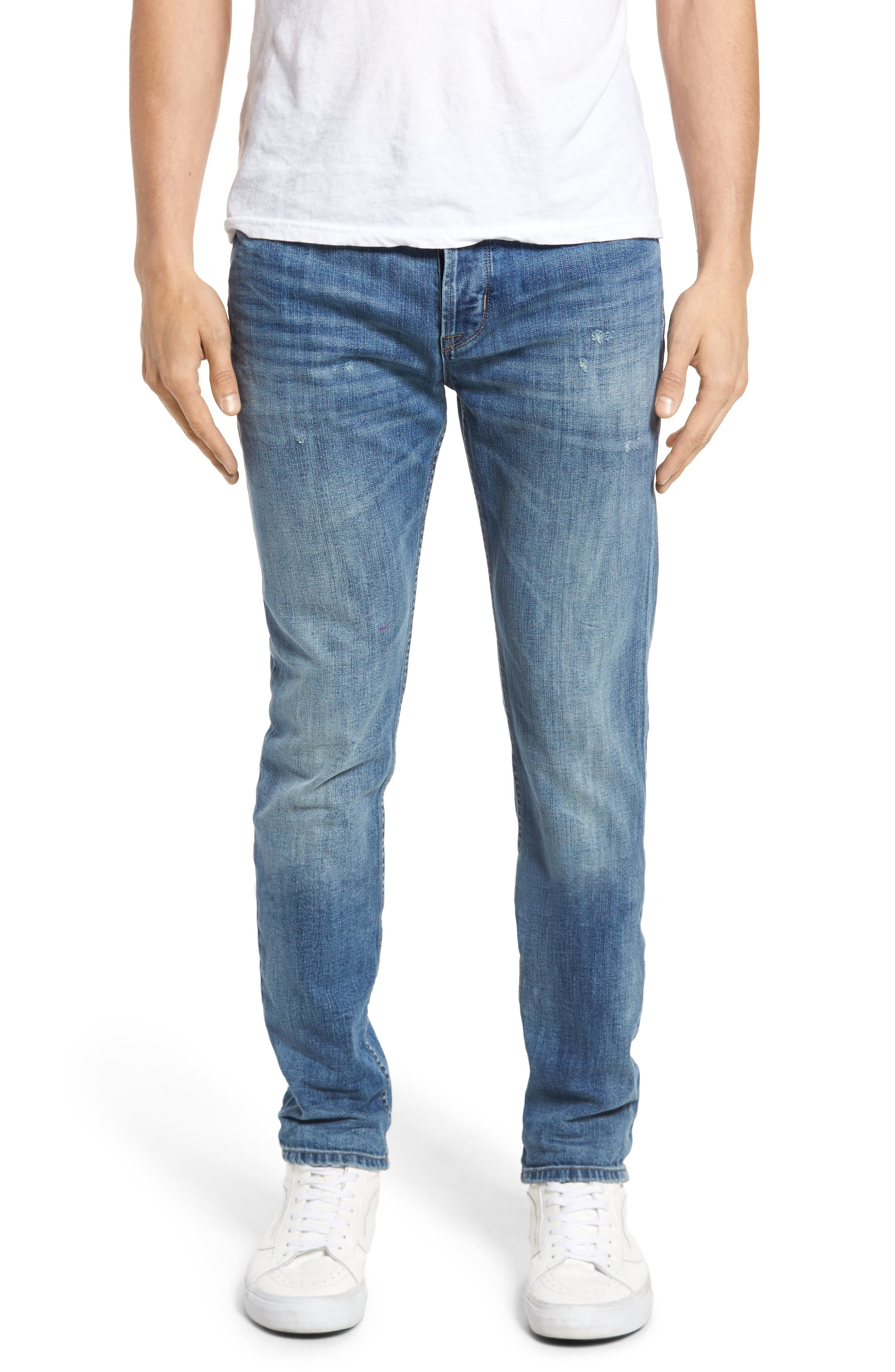 Main Image - Hudson Jeans Axl Skinny Fit Jeans (Racking)
