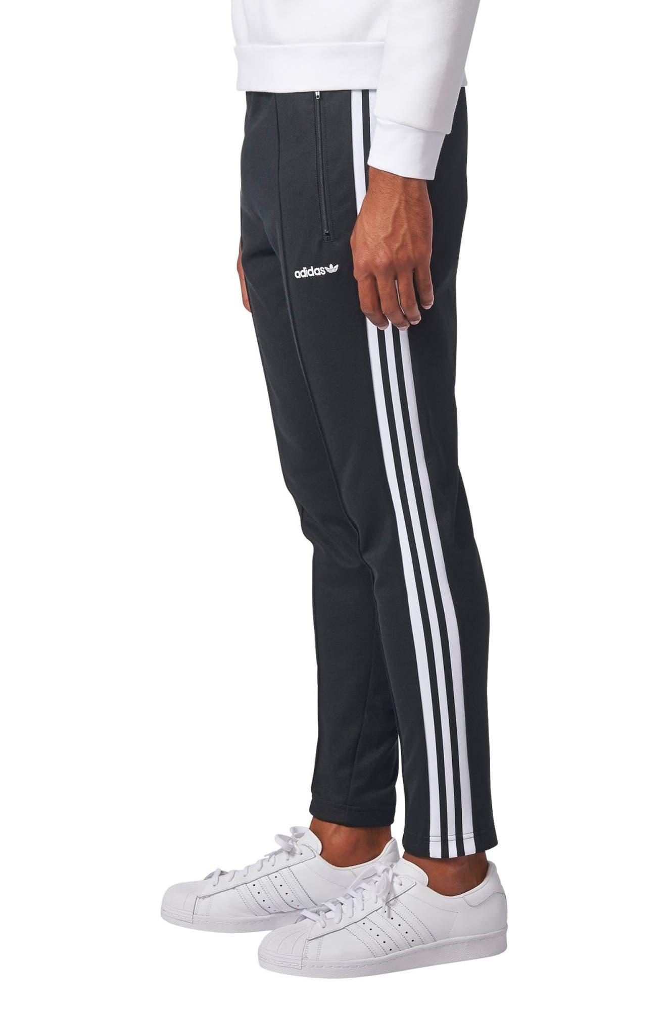 Alternate Image 3  - adidas Originals Beckenbauer Open Hem Track Pants