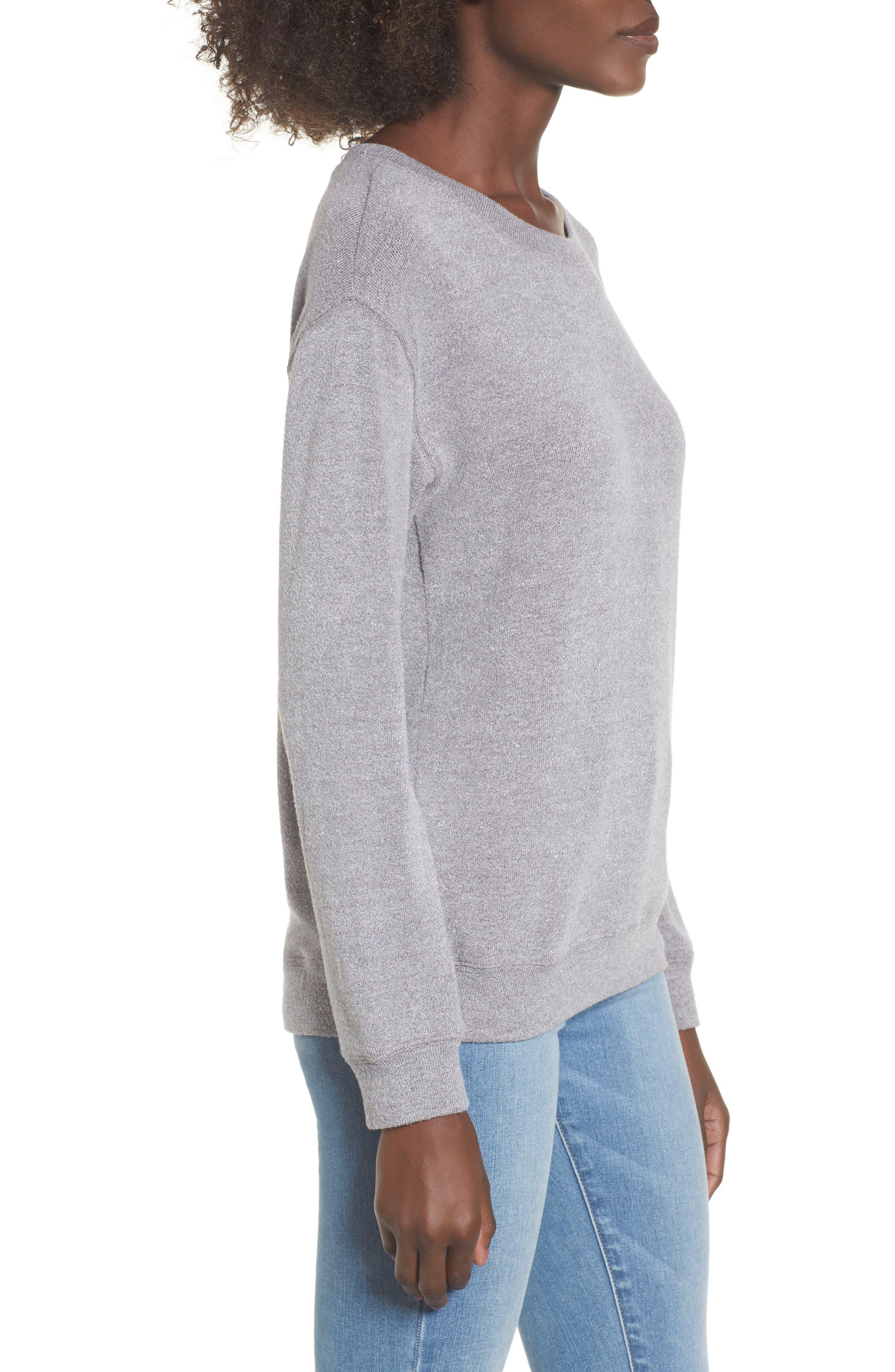 Alternate Image 3  - Lira Clothing Phoebe Fleece Sweatshirt