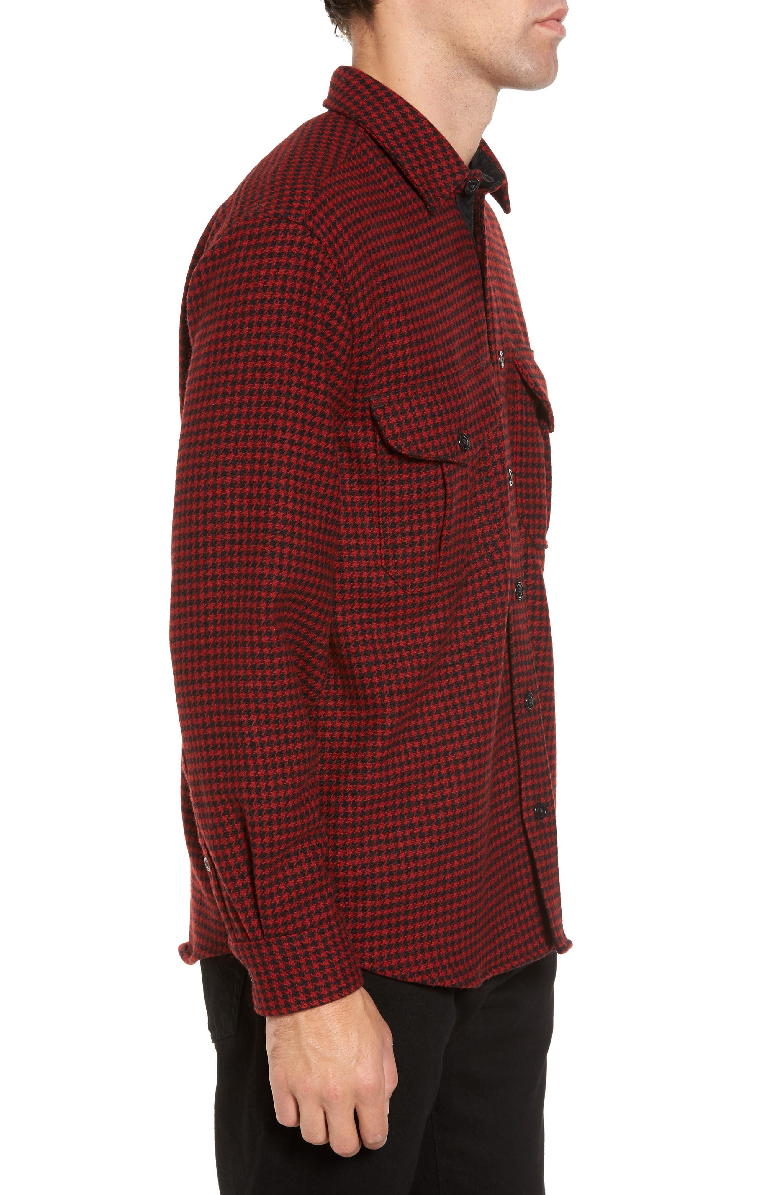 Alternate Image 3  - Filson Northwest Houndstooth Shirt Jacket