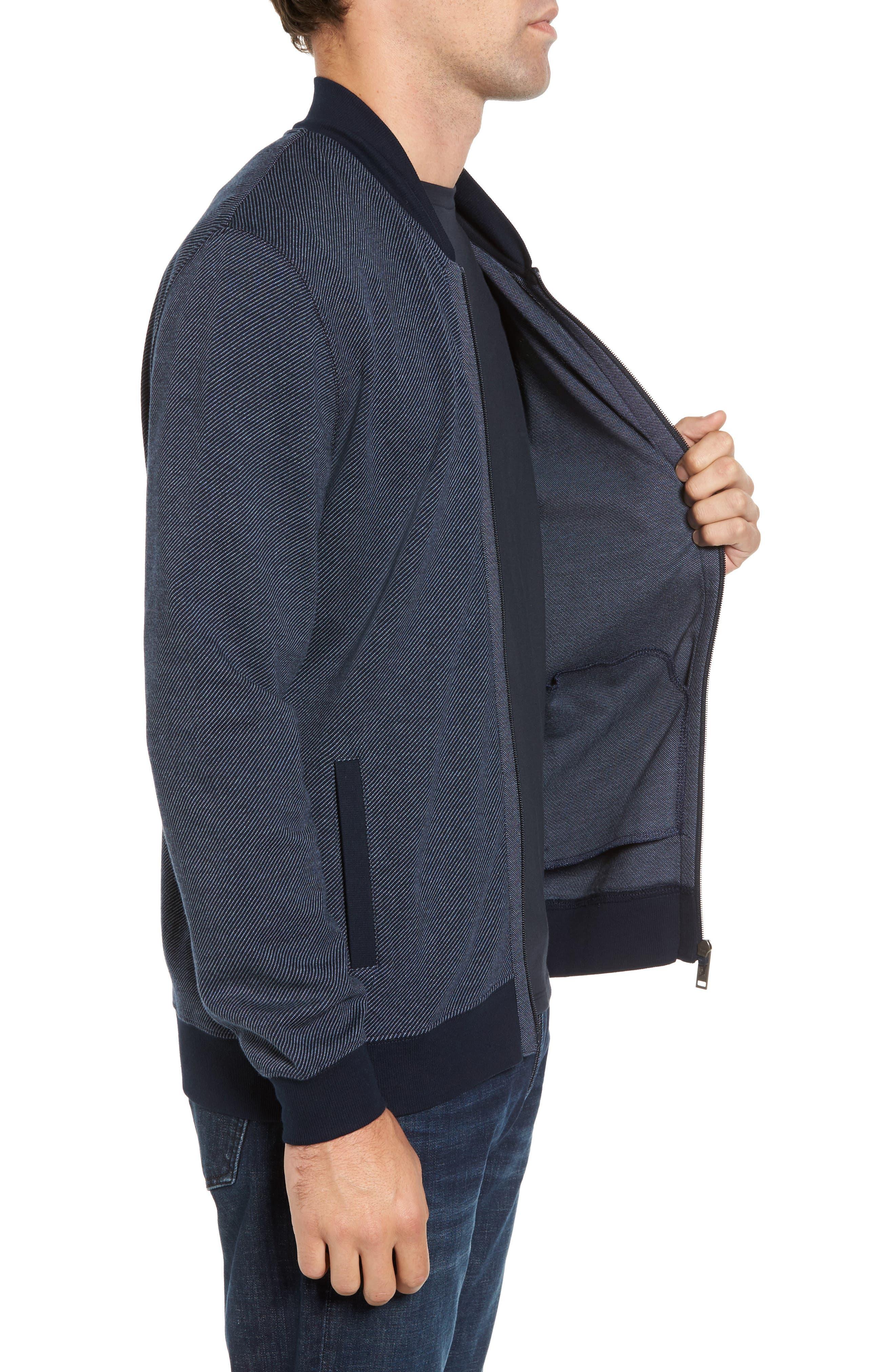 Alderson Ave Fleece Jacket,                             Alternate thumbnail 3, color,                             Navy