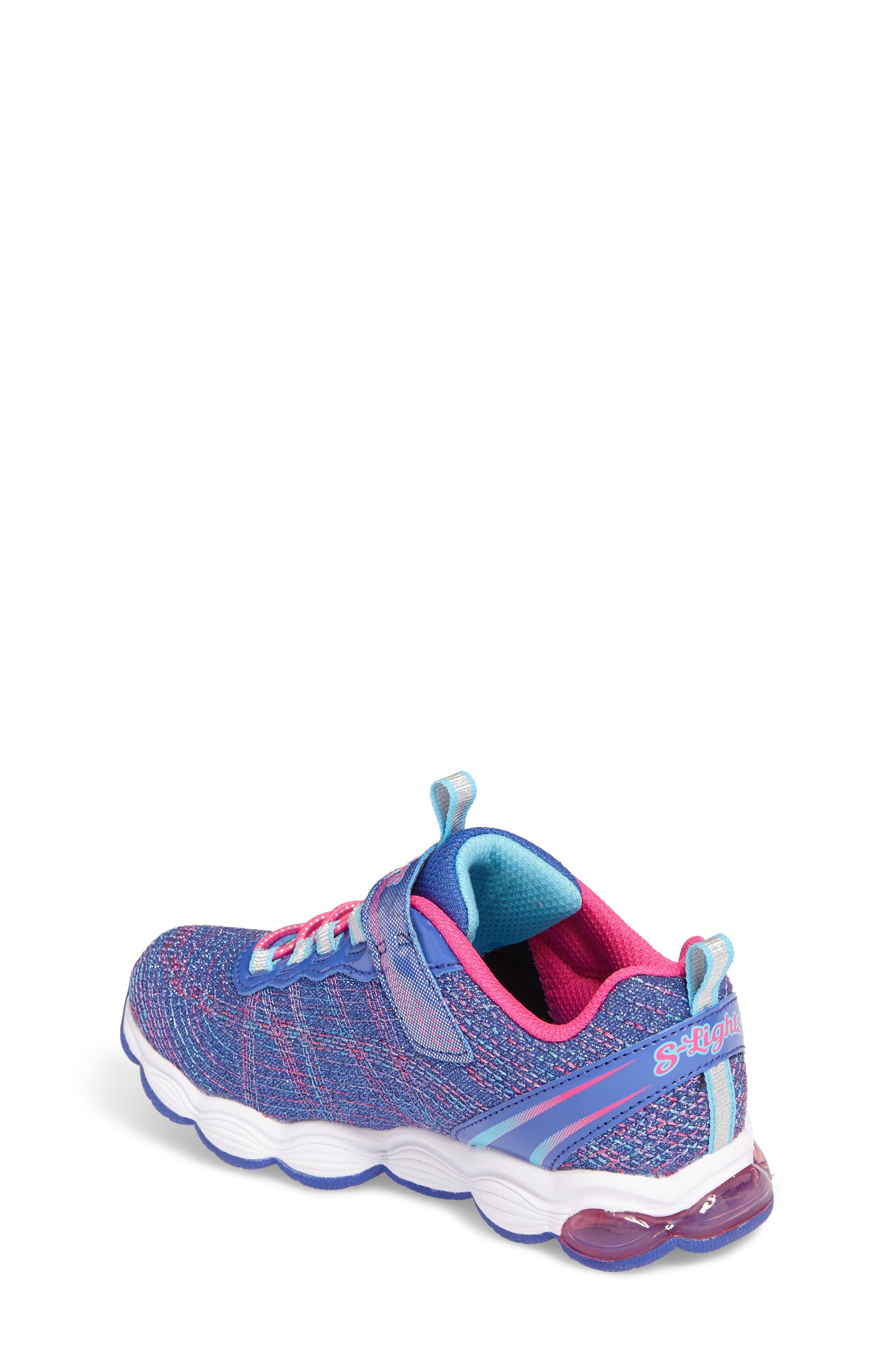 Alternate Image 2  - SKECHERS Glimmer Lights Sneakers (Toddler & Little Kid)