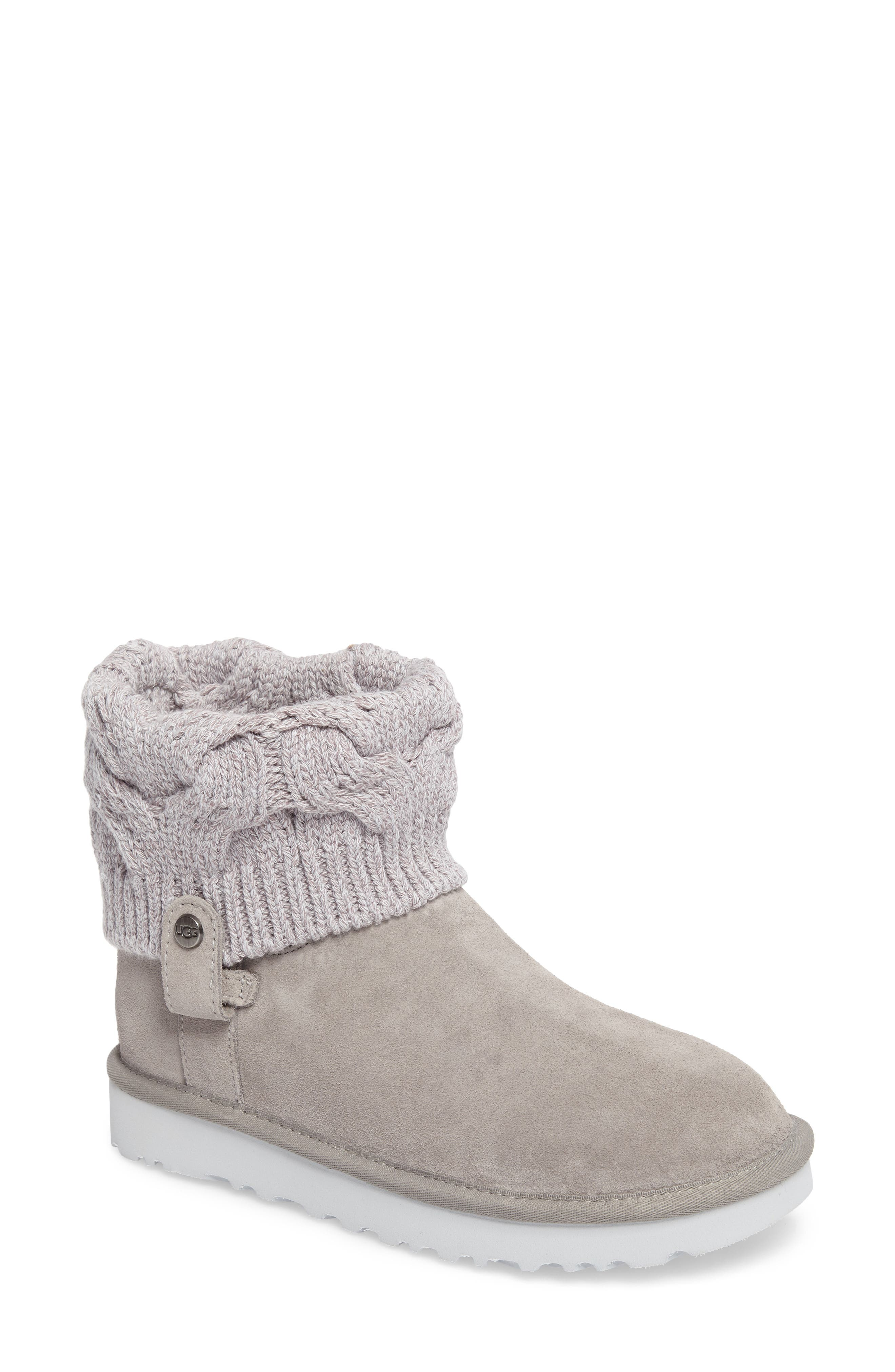 UGG® Saela Knit Cuff Boot (Women)