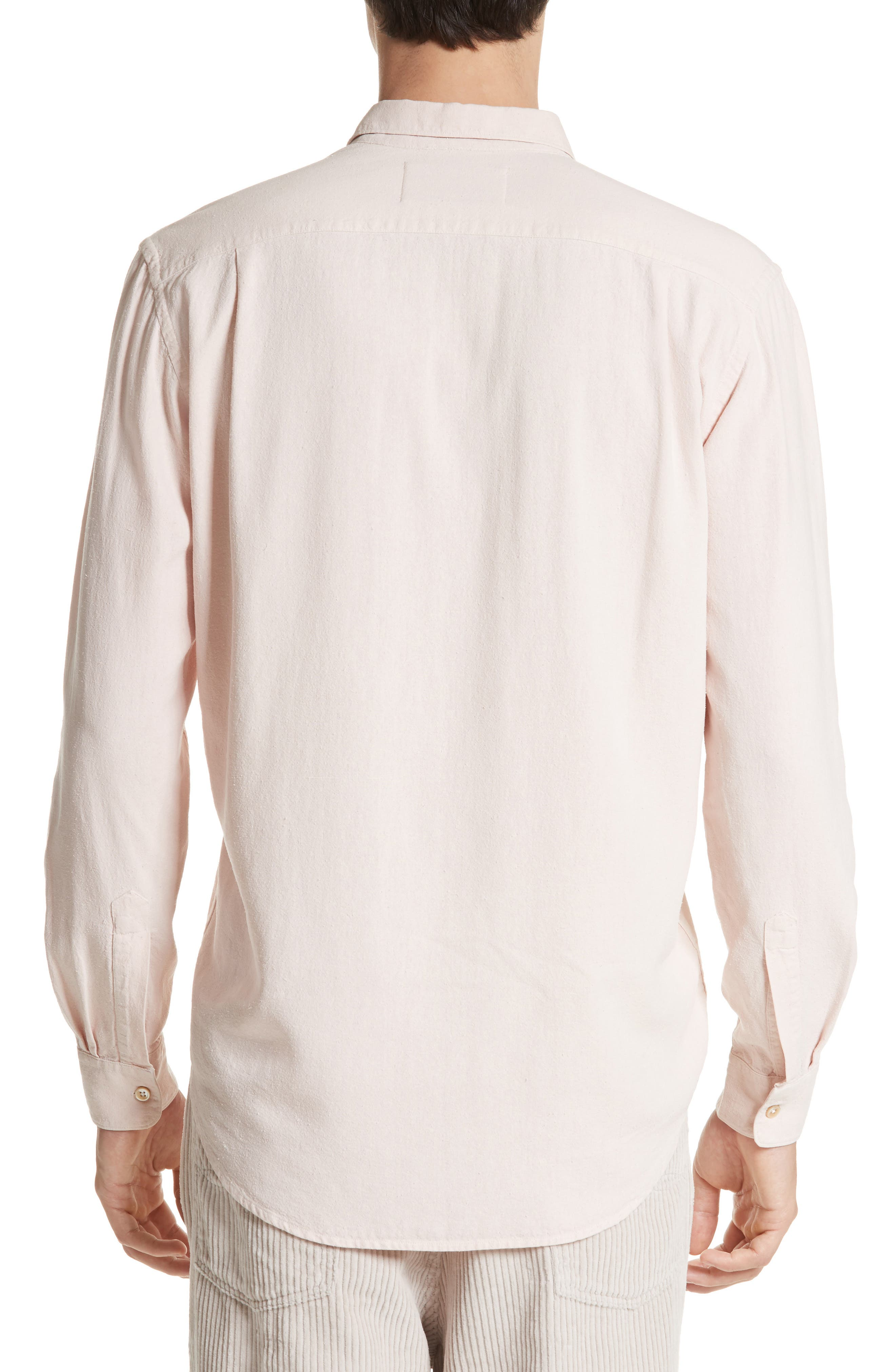 Alternate Image 2  - OUR LEGACY Classic Silk Shirt
