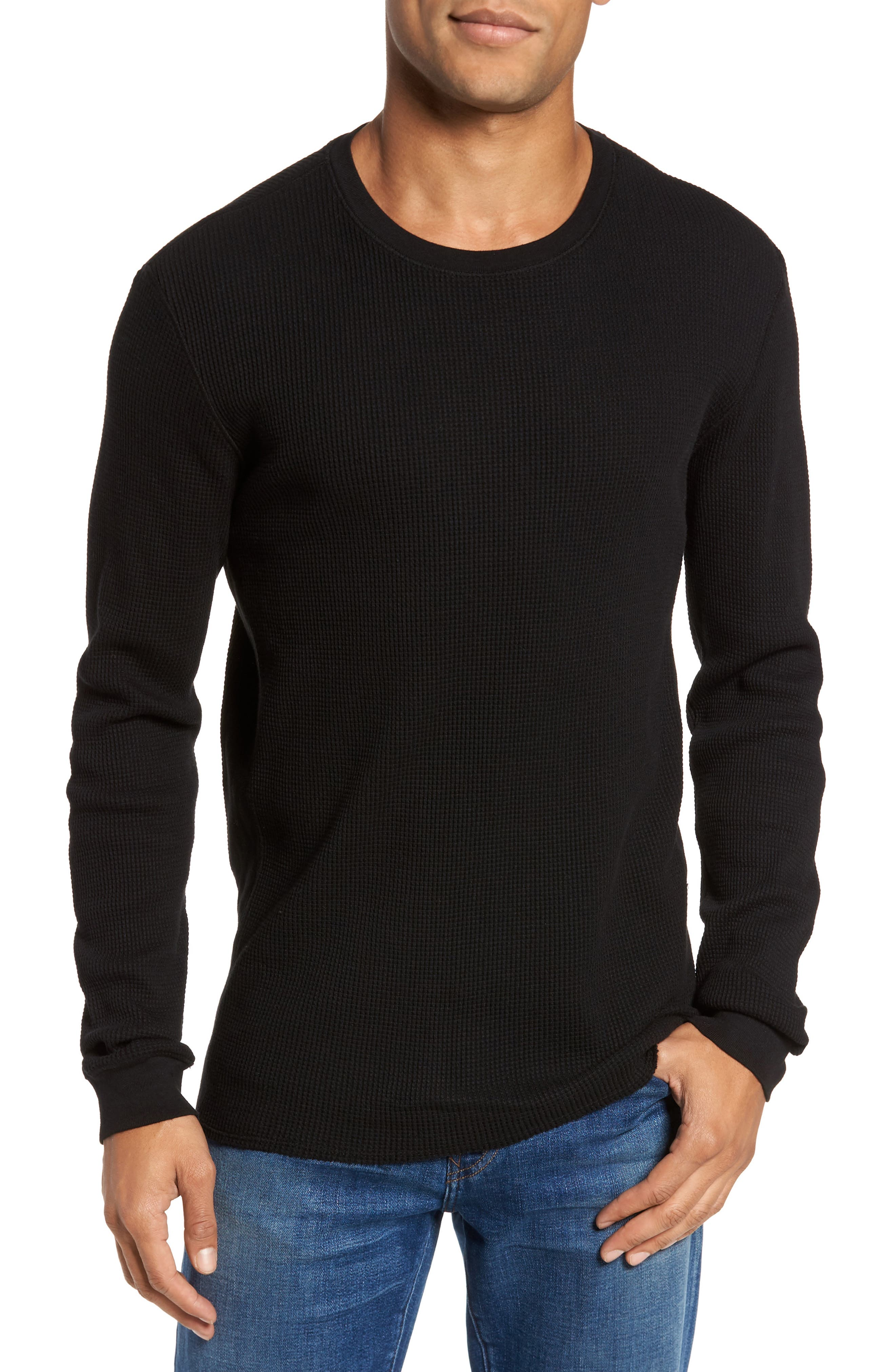 Alternate Image 1 Selected - AG Travis Slim Fit Long Sleeve T-Shirt