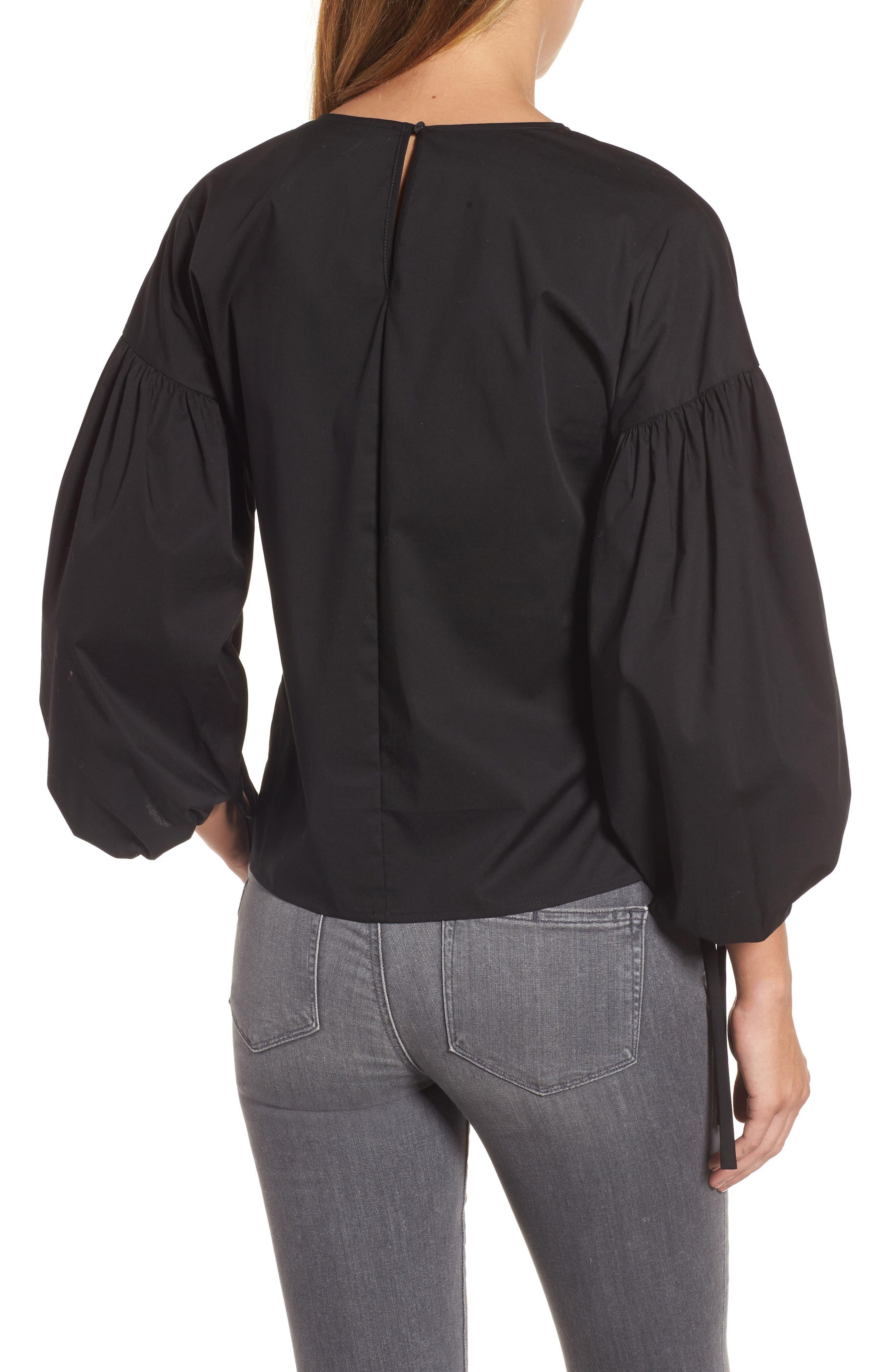 Alternate Image 2  - Halogen® Balloon Sleeve Top